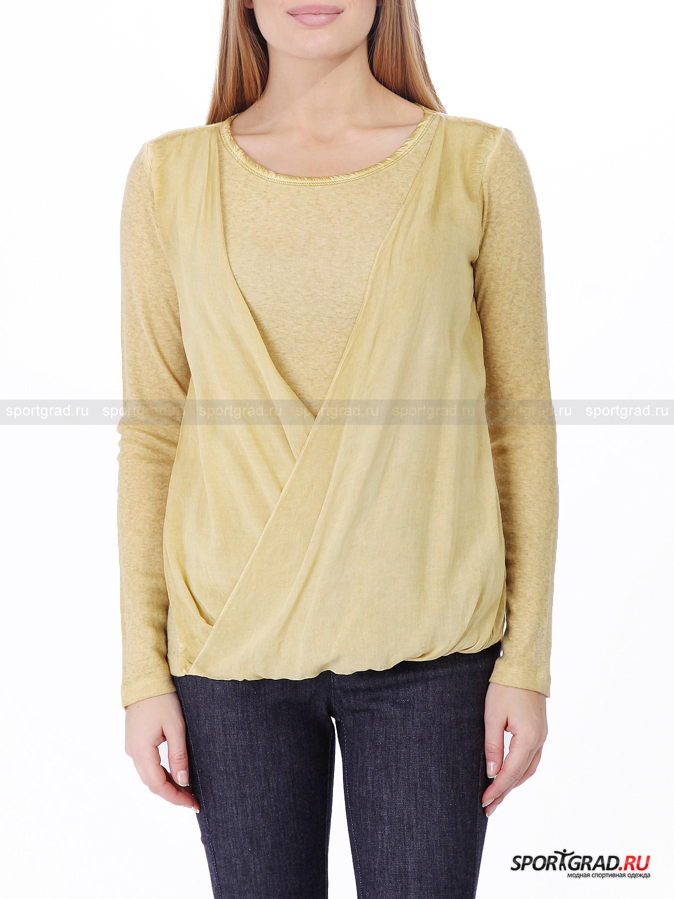 Джемпер женский Double Wrap T-shirt DEHA