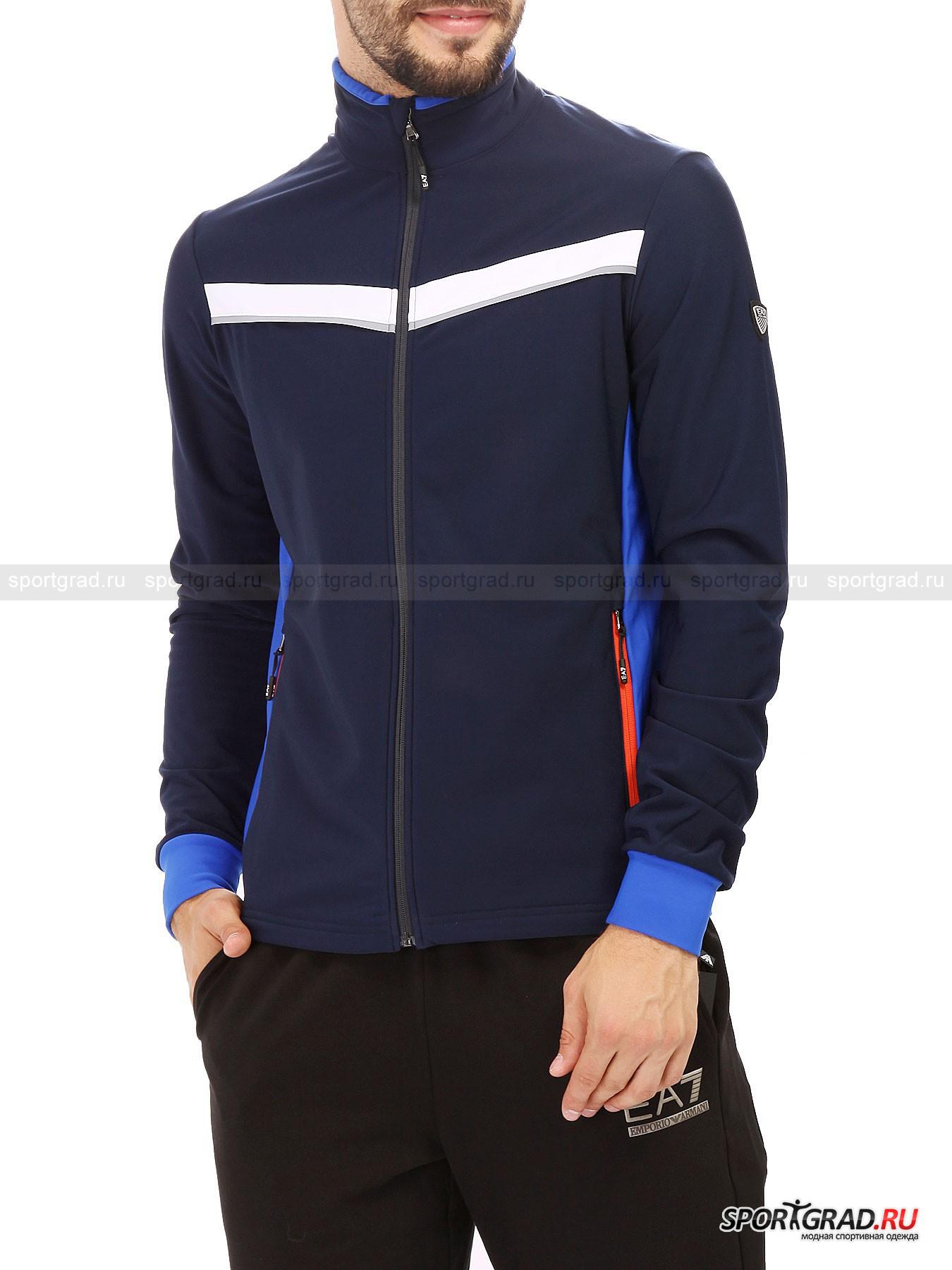 ��������� ������� ����������� Ski Full Zip Sweatshirt EMPORIO ARMANI