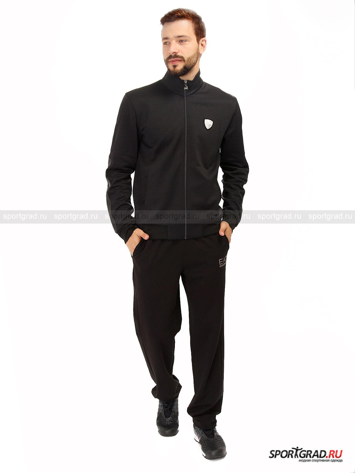 Толстовка мужская Train Soccer Sweatshirt EMPORIO ARMANI от Спортград