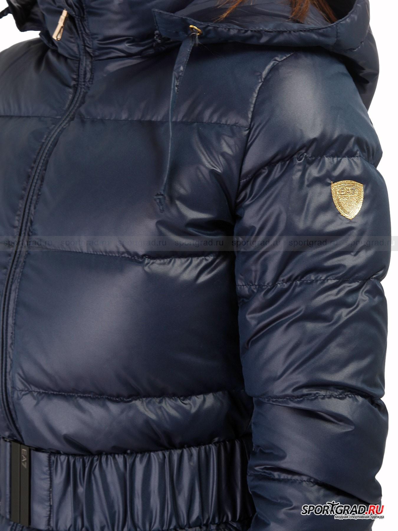 Пальто пуховое Mountain Pure Down Jacket EA7 EMPORIO ARMANI от Спортград