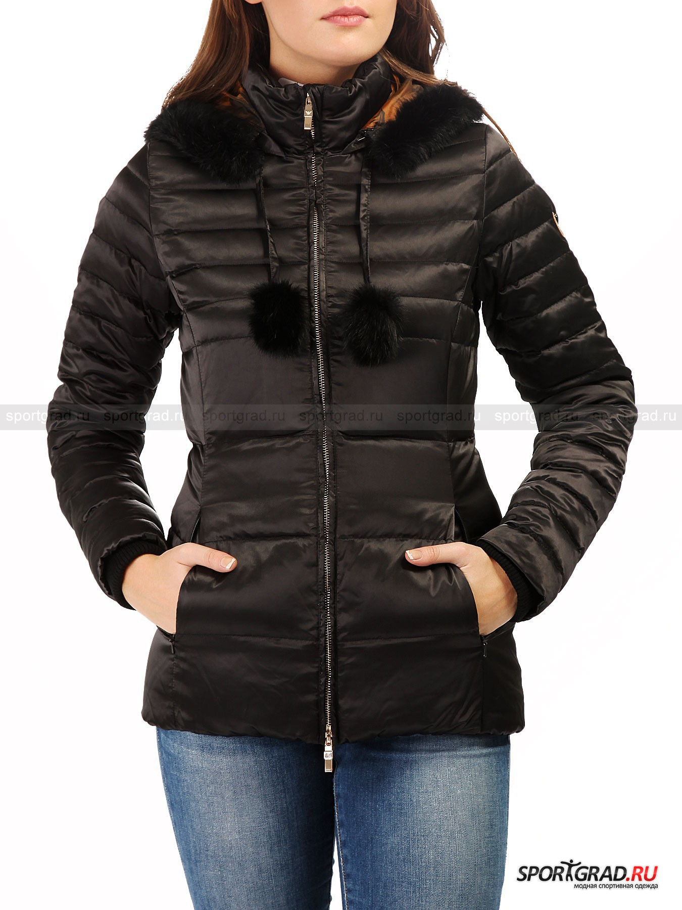 ������ ������� Mountain Graph Down Jacket EA7 EMPORIO ARMANI
