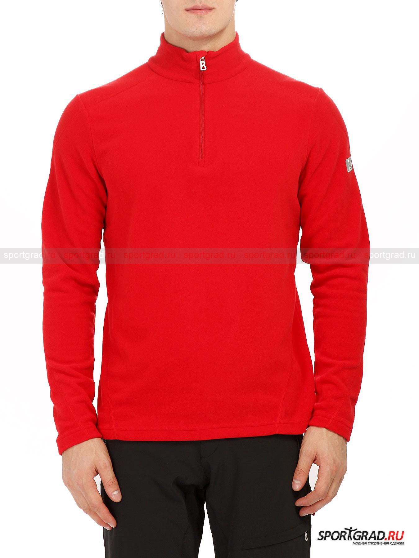 Мужская толстовка BOGNER RemyТолстовки<br>Организуя поездку в горы для лыжного катания, стоит озаботиться приобретением соответствующей одежды, которая в полной мере могла бы отвечать всем требования подобной экипировки. Примером такого надежного экипа может считаться продукция немецкой компании Bogner, которая на протяжении почти всего ХХ века занимается производством специализированной одежды для лыжников.<br><br>Грамотный подбор одежды не должен зацикливаться на теплых куртках, важно найти и не менее теплый промежуточный слой. Мужская толстовка Remy способна встать на страже Вашего здоровья и отличного состояния на морозном воздухе. Достичь этого удается за счет флисовой структуры ткани, которая отличается не только приятными ощущениями на ощупь, но и высоким уровнем сохранения тепла. Прибавить к этому можно износостойкость материала изготовления, что позволяет сохранить силуэт модели в первозданном виде.<br><br>•Высокий ворот<br>•Молния до груди<br>•Свободный крой<br>•Усиленный швы<br>•Фирменный логотип компании на левом плече<br><br>Пол: Мужской<br>Возраст: Взрослый<br>Тип: Толстовки<br>Рекомендации по уходу: Деликатная стирка при 30С, не отбеливать, не сушить в барабане стиральной машины, не гладить, химчистка разрешена.<br>Состав: 100% полиэстер.