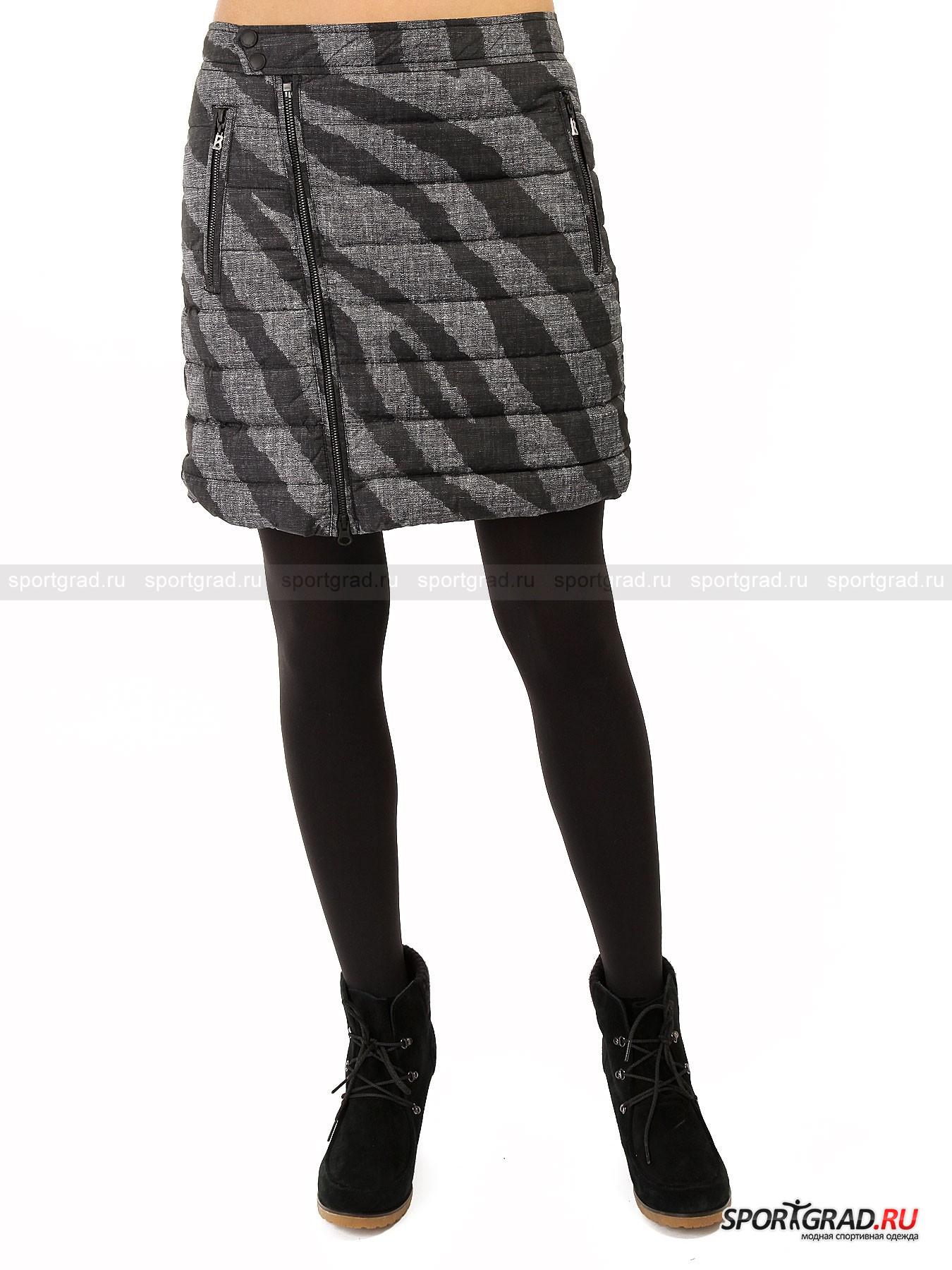 Юбка женская BOGNER FIRE&amp;ICE SophyЮбки<br>Коллекции BOGNER FIRE&amp;ICE поражают своими оригинальными и необычными дизайнерскими решениями. Это не привычные консервативные вещи, это настоящая диковинка мира моды.<br><br>Женская юбка Sophy поражает универсальным способом ее одевать. Это не классическая модель, которую одевают через ноги. Она полностью расстегивается и распахивается. Благодаря этому ее спокойно можно обернуть вокруг талии и зафиксировать молнией. При этом не стоит забывать, что представленная юбка из зимней коллекции, так что неудивительно, что оригинальные дизайнеры бренда оснастили ее натуральным утеплителем. Настоящее открытие для поклонниц оригинальных предметов гардероба, в которых особую роль играет и практичность вещей.<br><br>•Комбинированная застежка на крючки и металлические кнопки<br>•Два передних кармана на молнии<br>•Стеганая основа<br>•Фирменный логотип компании сзади в районе талии<br><br>Пол: Женский<br>Возраст: Взрослый<br>Тип: Юбки<br>Рекомендации по уходу: Деликатная стирка при 30С, не отбеливать, сушить в барабане стиральной машины разрешено, гладить при температуре не выше 110С, химчистка разрешена.<br>Состав: 100% нейлон, утеплитель – 80% пух/20% перо.