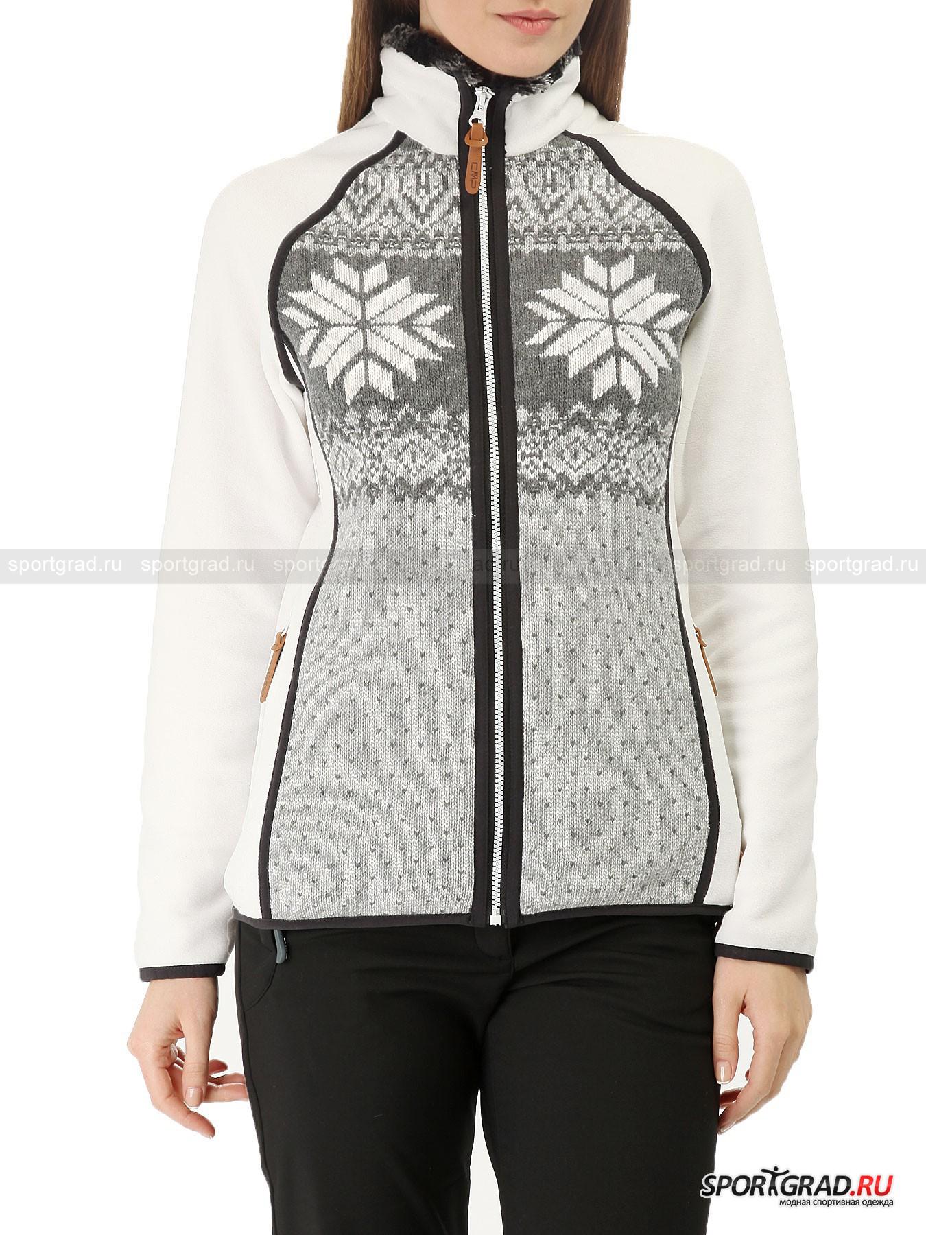 Толстовка женская Woman Fleece Jacket CMP