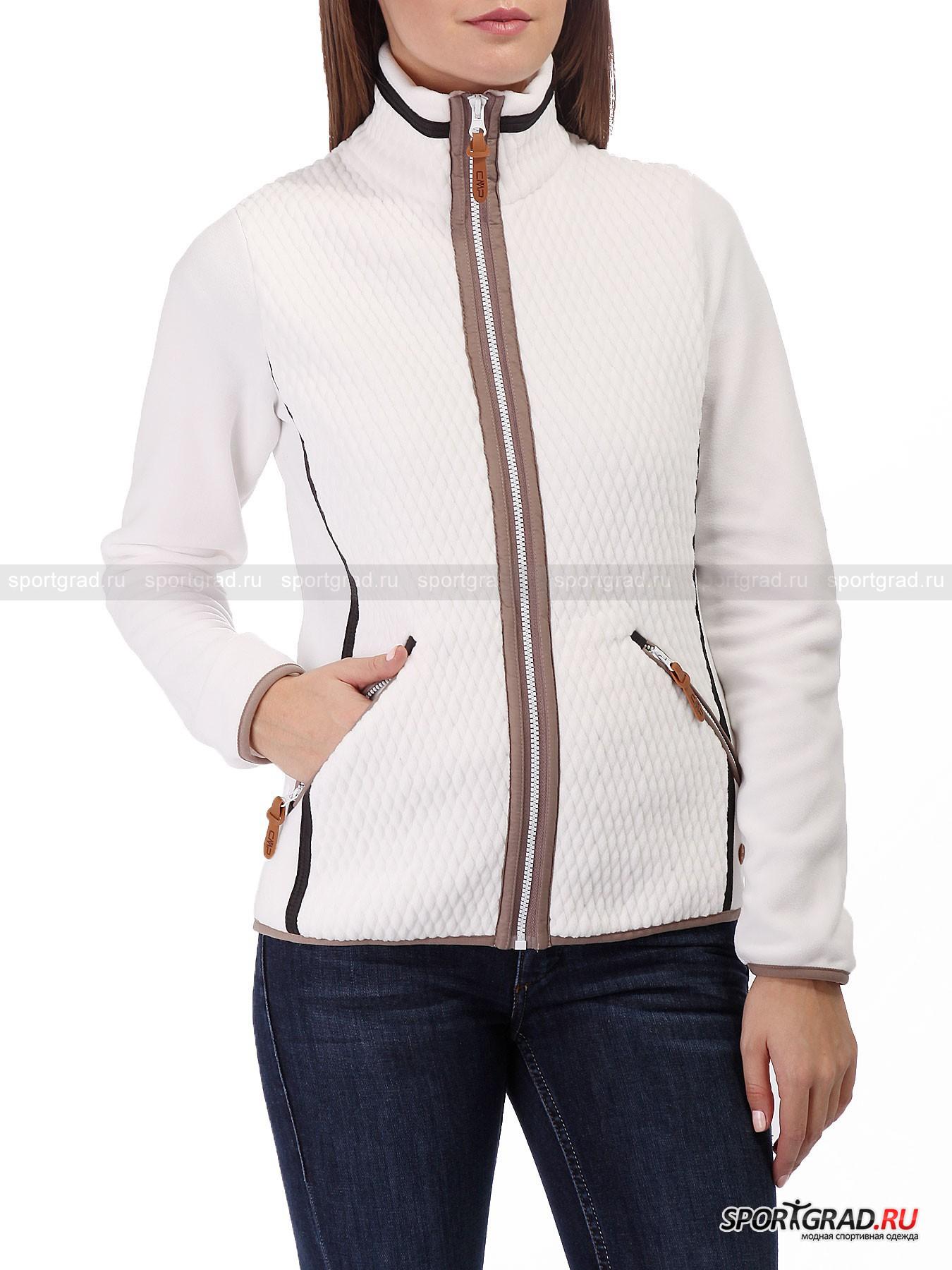Толстовка женская Woman Fleece Jacket CAMPAGNOLO