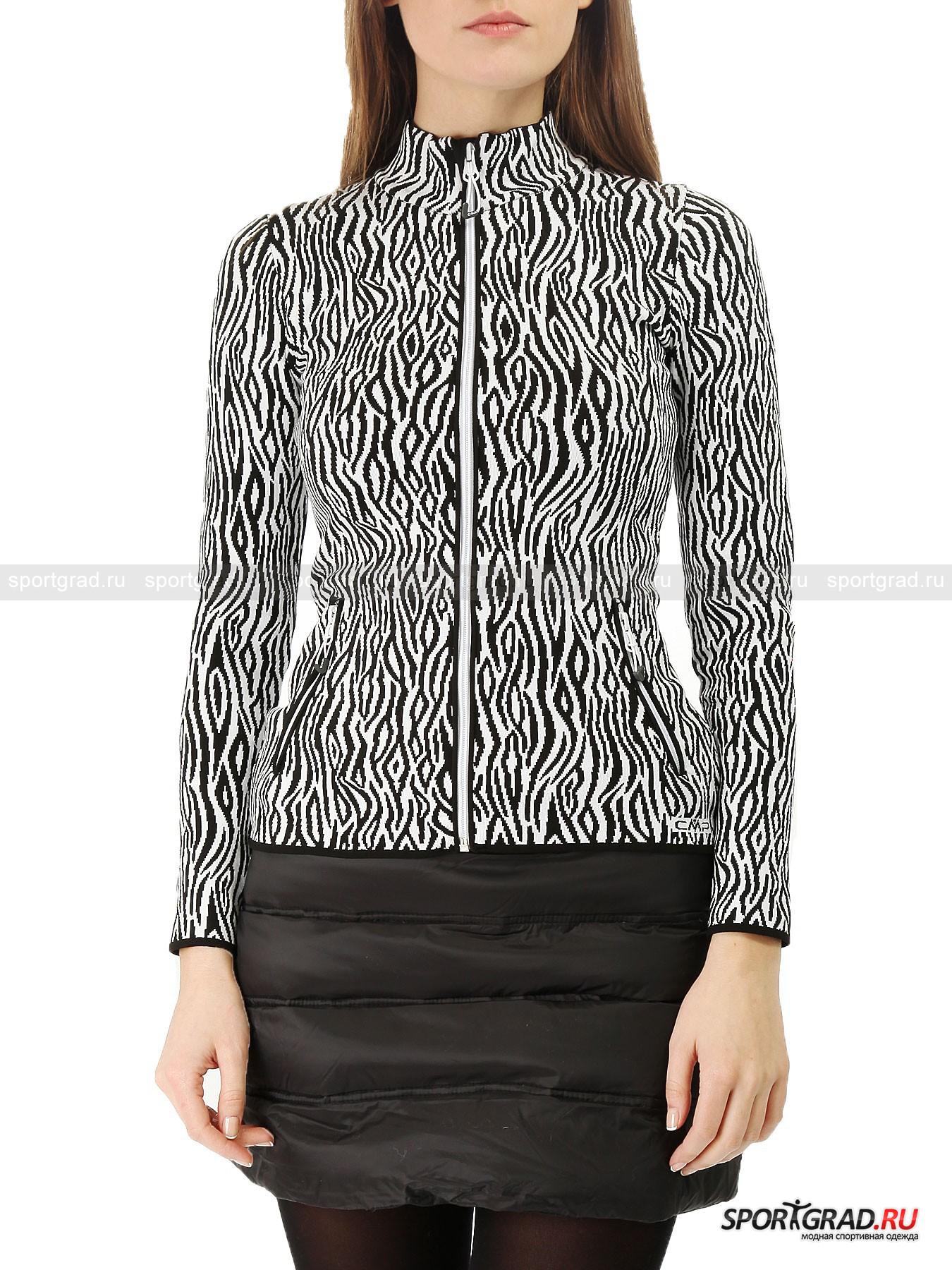 Толстовка женская Knitted Pullover CMP