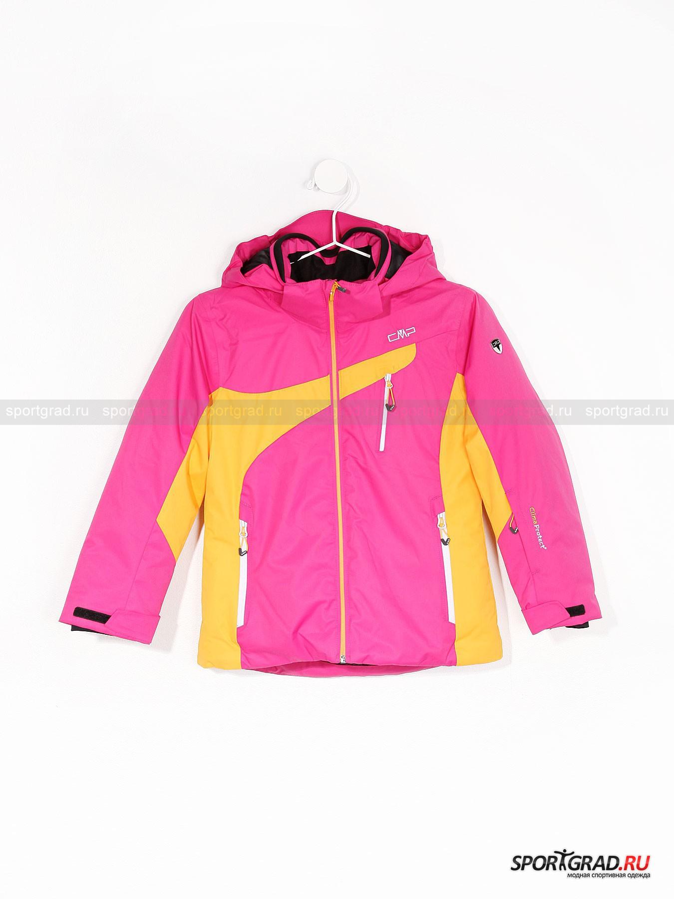 Куртка зимняя для девочек Ski Jacket CMP от Спортград
