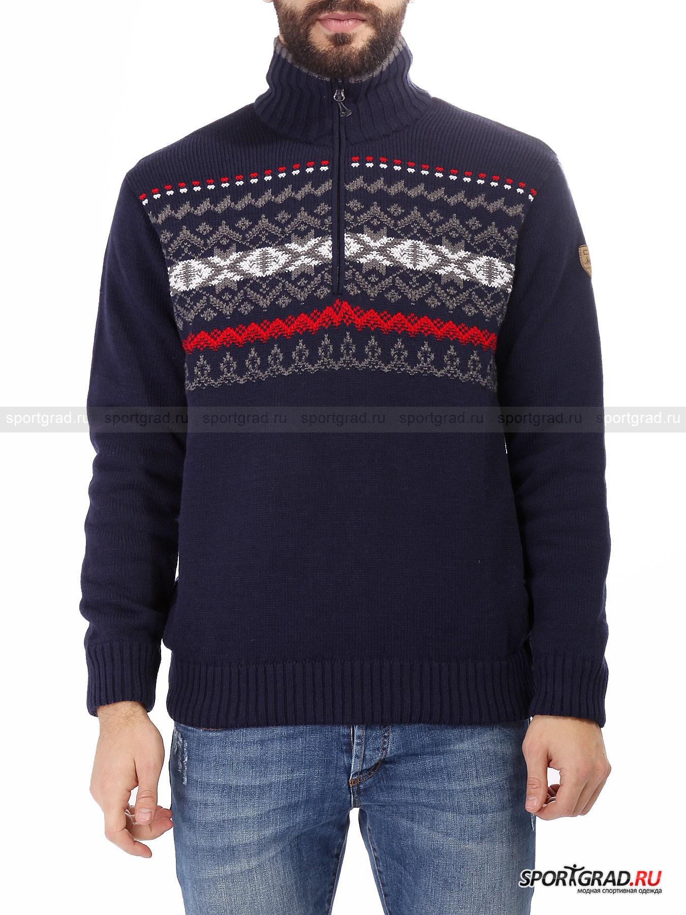 Мужской свитер CMP Knitted Pullover WindProtectДжемперы, Свитеры, Пуловеры<br>В ассортименте итальянского бренда CMP можно встретить обилие теплой одежды для загородного отдыха и повседневной носки. Что особо актуально в зимний период.<br><br>Мужской свитер Knitted Pullover WindProtect выделяется своим высокотехнологичным производством, в основе которого стоит защитный слой. Он обезопасит от резких порывов ветра и не позволит скопиться излишкам влаги на поверхности кожи. Это отличный промежуточный слой под теплую парку, что позволит ощутить абсолютный комфорт даже в самый лютый мороз. <br><br>•Высокий ворот<br>•Молния до груди<br>•Применена технология WindProtect<br>•Встроенная в манжеты рукавов широкая резинка<br>•Фирменный логотип компании в виде нашивки на левом плече<br><br>Пол: Мужской<br>Возраст: Взрослый<br>Тип: Джемперы, Свитеры, Пуловеры<br>Рекомендации по уходу: Деликатная стирка при 30С, не отбеливать, не сушить в барабане стиральной машины, сушить на горизонтальной поверхности, не гладить, химчистка запрещена.<br>Состав: 50% акрил/25% полиамид/25% шерсть.