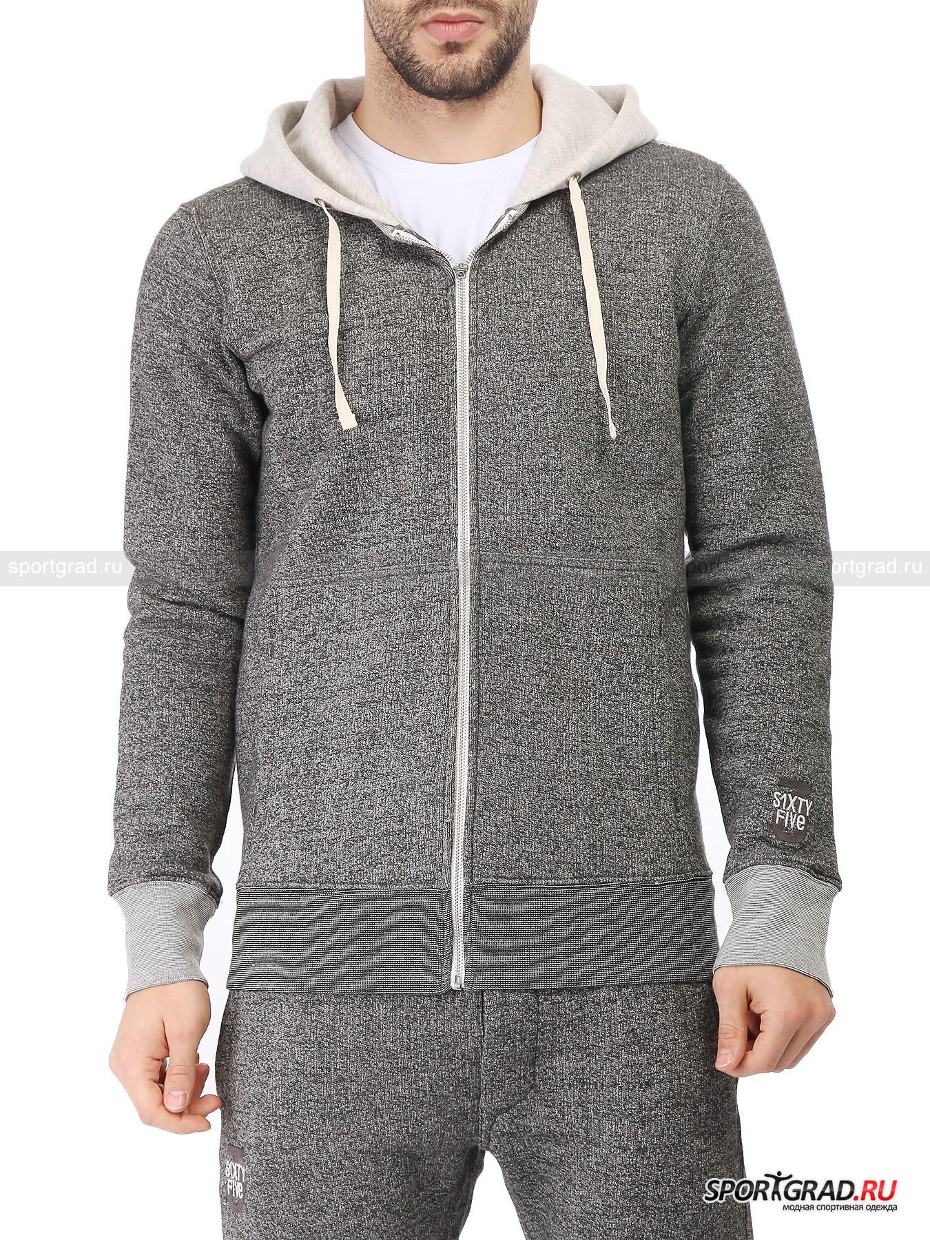 Толстовка мужская Hood Zip Sweater Logo 3SIXTYFIVEТолстовки<br>Мужская толстовка Hood Zip Sweater Logo 3SIXTYFIVE отлично подходит для прохладного времени года. Плотный материал изготовления сочетается с внутренней отделкой мелким ворсом: это позволяет лучше сохранять тепло собственного тела в непогоду. Стильный и универсальный предмет гардероба отлично вписывается в популярный уличный стиль одежды и подойдет для повседневной носки. Меланжевая расцветка придает модели дополнительной привлекательности.<br><br>•Удобный капюшон с утяжками<br>•Два поясных кармана<br>•Манжеты рукавов оснащены широкой резинкой<br>•Фирменный логотип компании на левом рукаве<br><br>Пол: Мужской<br>Возраст: Взрослый<br>Тип: Толстовки<br>Рекомендации по уходу: Деликатная стирка при 30С, не отбеливать, не сушить в барабане стиральной машины, гладить при температуре не выше 110С, химчистка разрешена.<br>Состав: 50% хлопок, 35% полиэстер, 15% вискоза