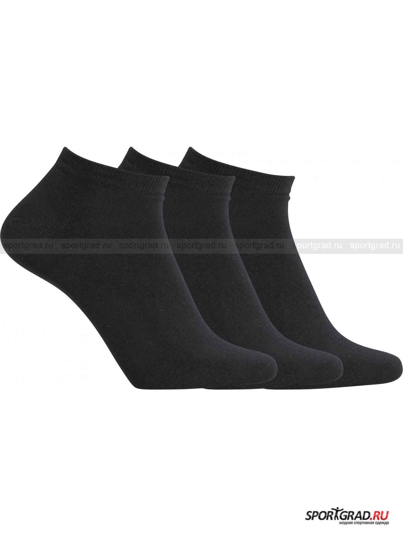Набор коротких мужских носков 3-Pack Cotton Stretch CR7Носки<br>Базовый набор из трех пар мужских носков с укороченной верхней частью 3-Pack Cotton Stretch CR7. Плотный, мягкий, приятный на ощупь, превосходно тянущийся материал подарит ногам полный комфорт. Каждая пара декорирована небольшой надписью CR7.<br><br>Пол: Мужской<br>Возраст: Взрослый<br>Тип: Носки<br>Рекомендации по уходу: стирка при температуре до 40 С; не отбеливать; химчистка запрещена; не гладить; можно сушить в барабане стиральной машины<br>Состав: 80% хлопок, 19% полиамид, 1% эластан