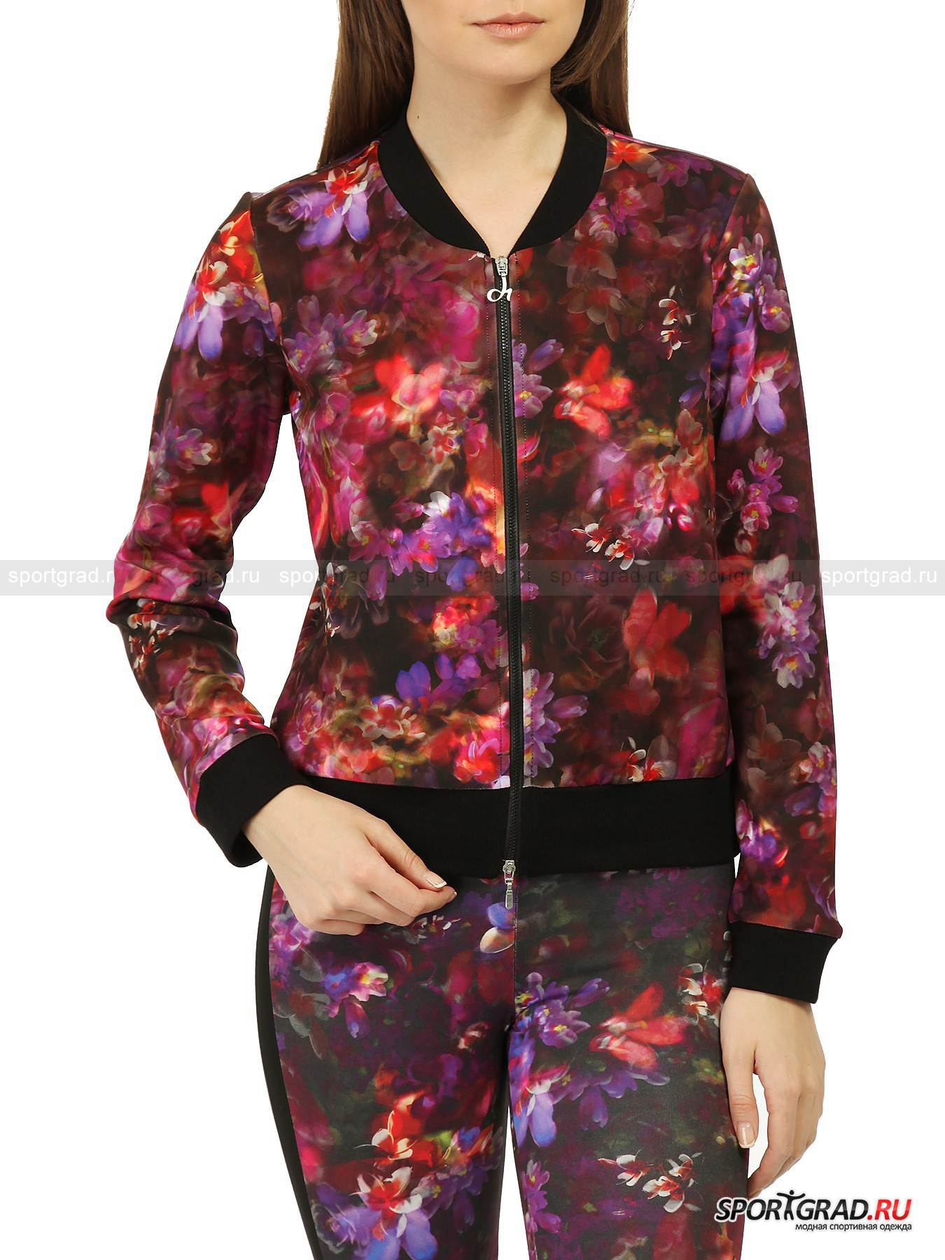 Толстовка женская Flowers Print Jacket DEHA от Спортград