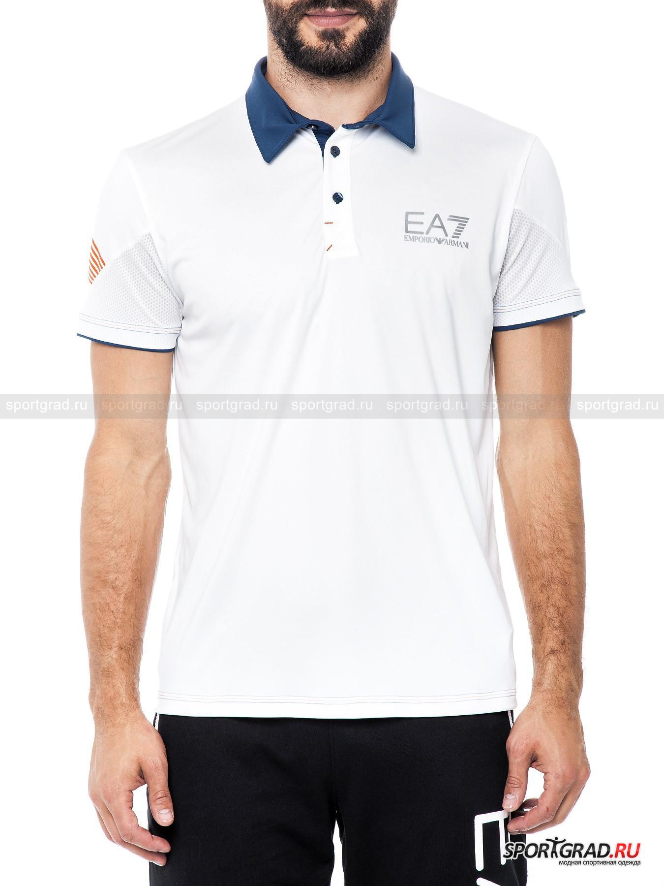 ���� ������� ��� ���������� Tennis Polo Shirt EA7 Emporio Armani