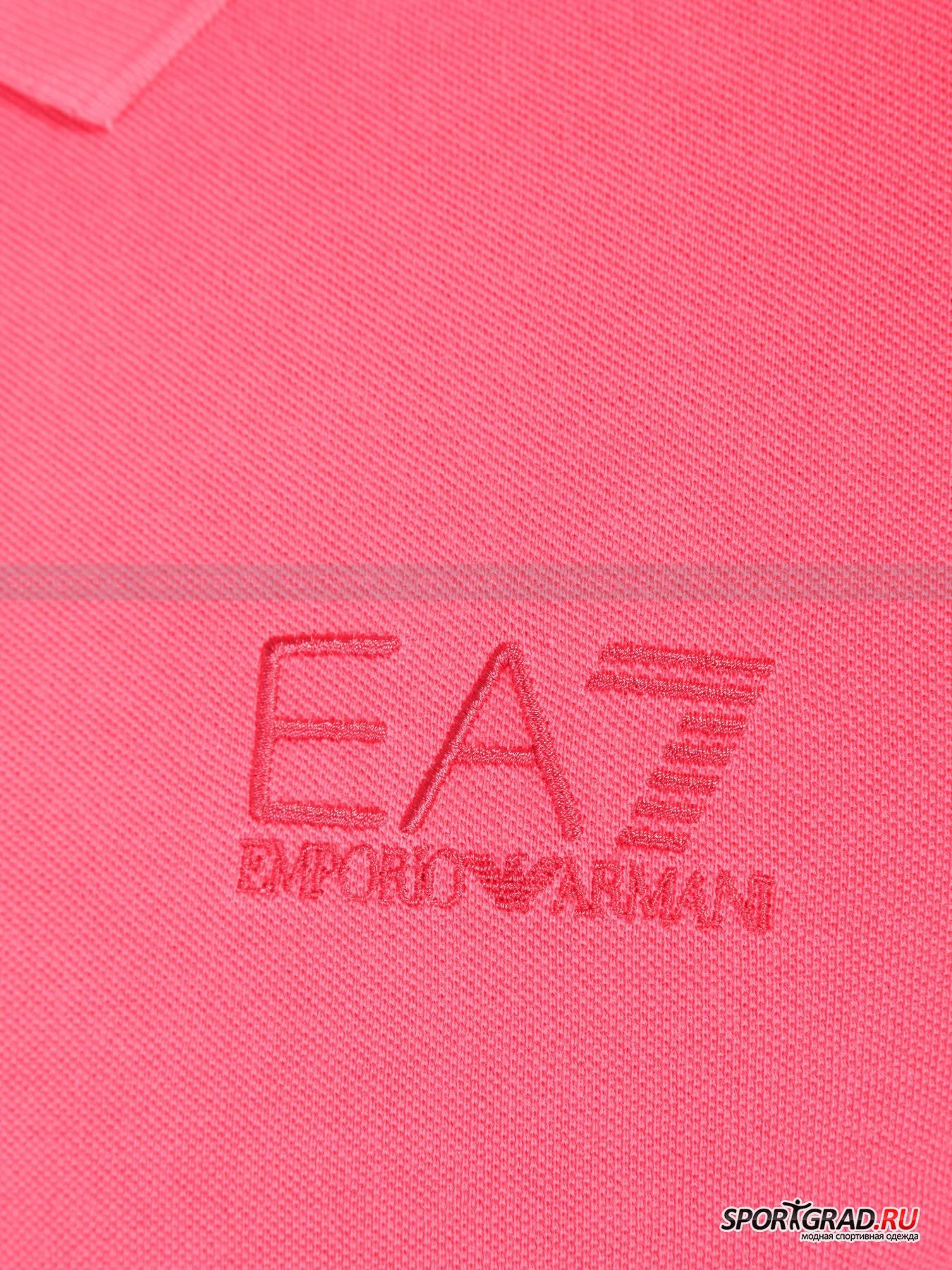 Поло мужское Train Core Polo Shirt  EA7 Emporio Armani от Спортград