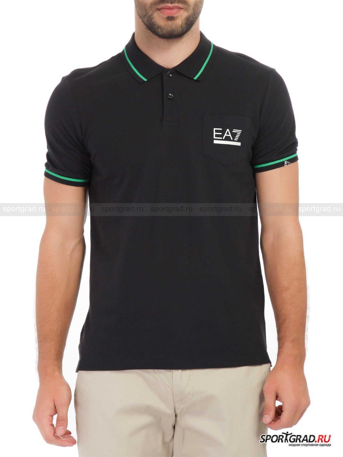 ���� ������� Train Evolution Polo Shirt EA7 Emporio Armani