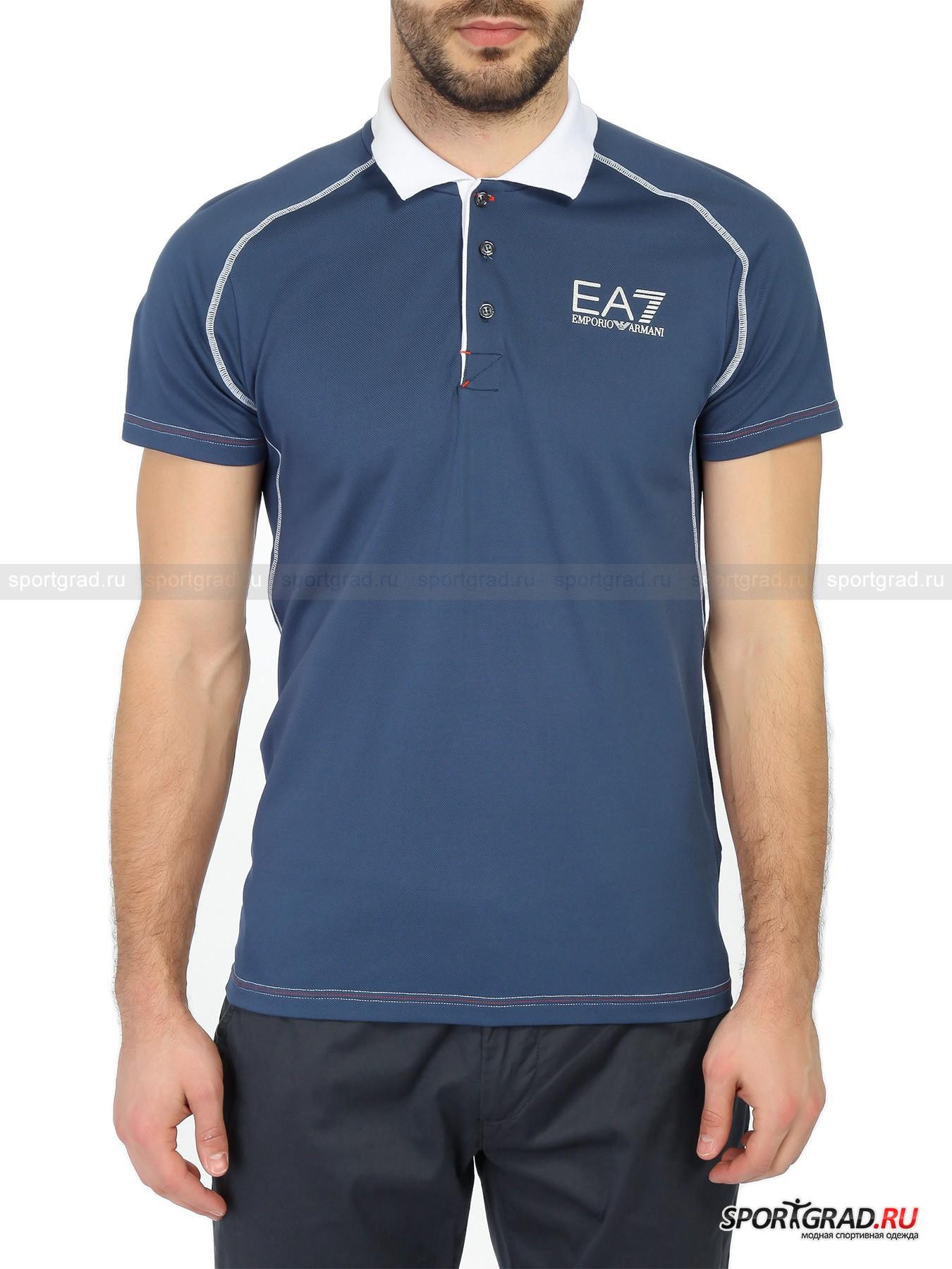 Поло мужское Tennis Pro Polo Shirt EA7 Emporio Armani
