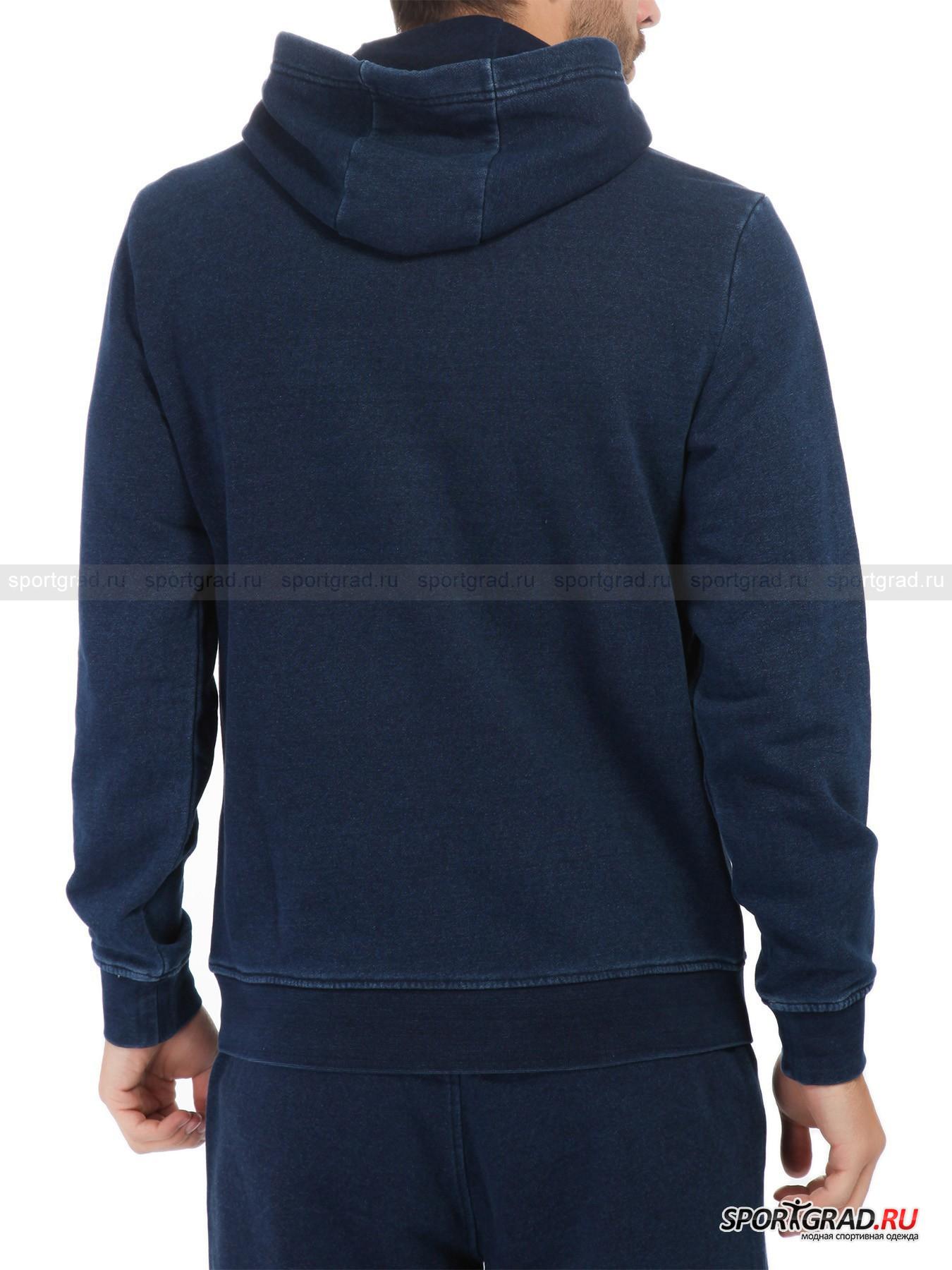 Толстовка мужская Train Inspired Indigo Hoodie Sweatshirt EA7 Emporio Armani от Спортград