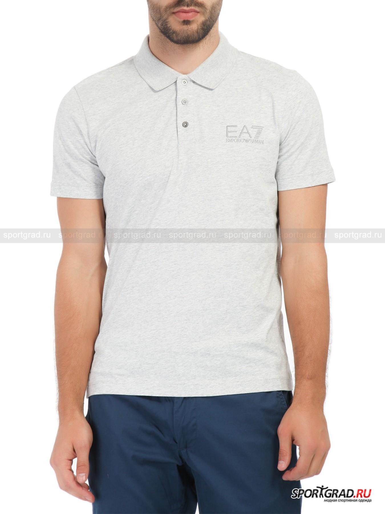 Поло мужское Train Core Plus Polo Shirt EA7 Emporio Armani