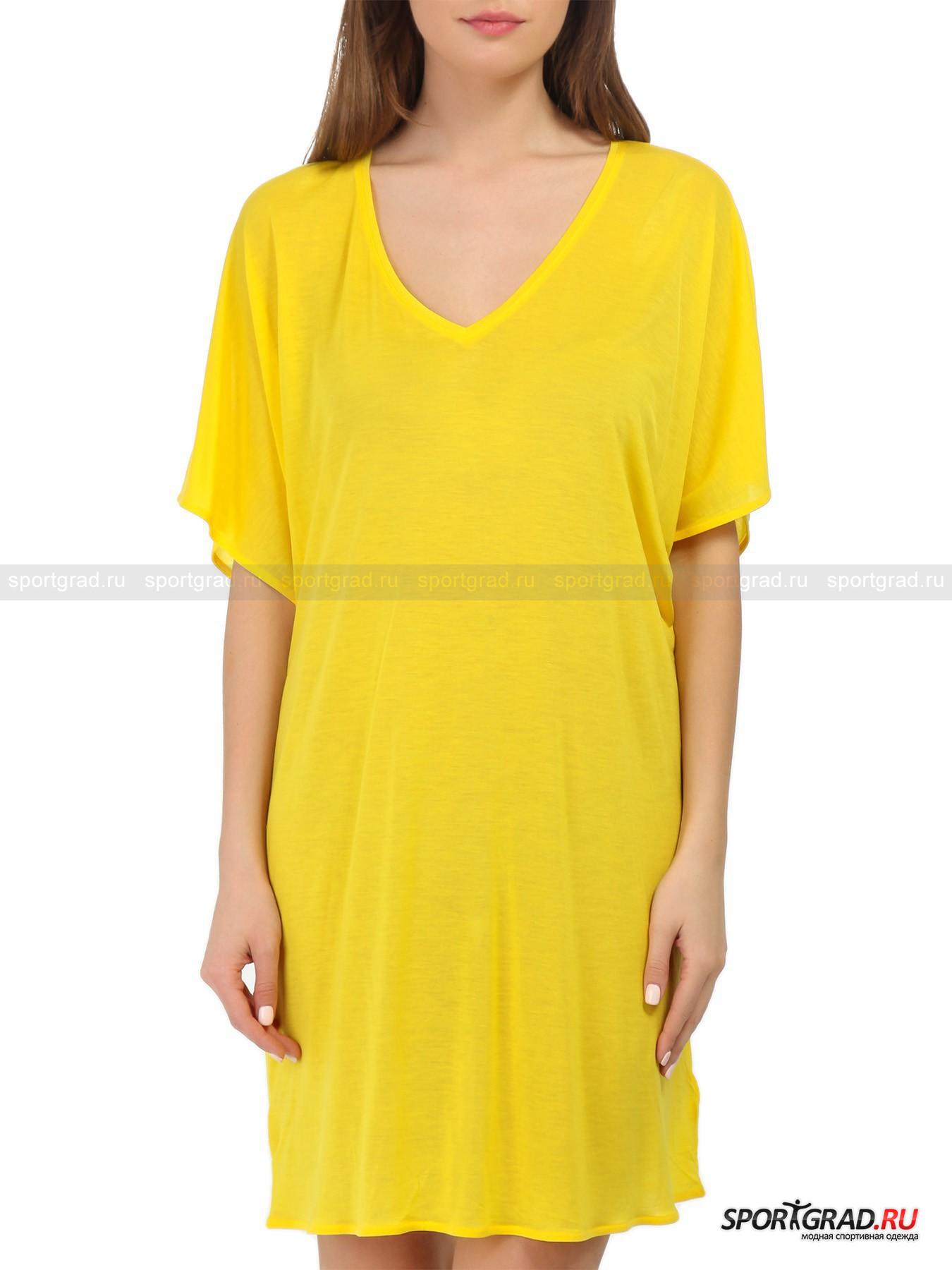 Туника женская пляжная Sea World Beach Dress EA7 Emporio Armani