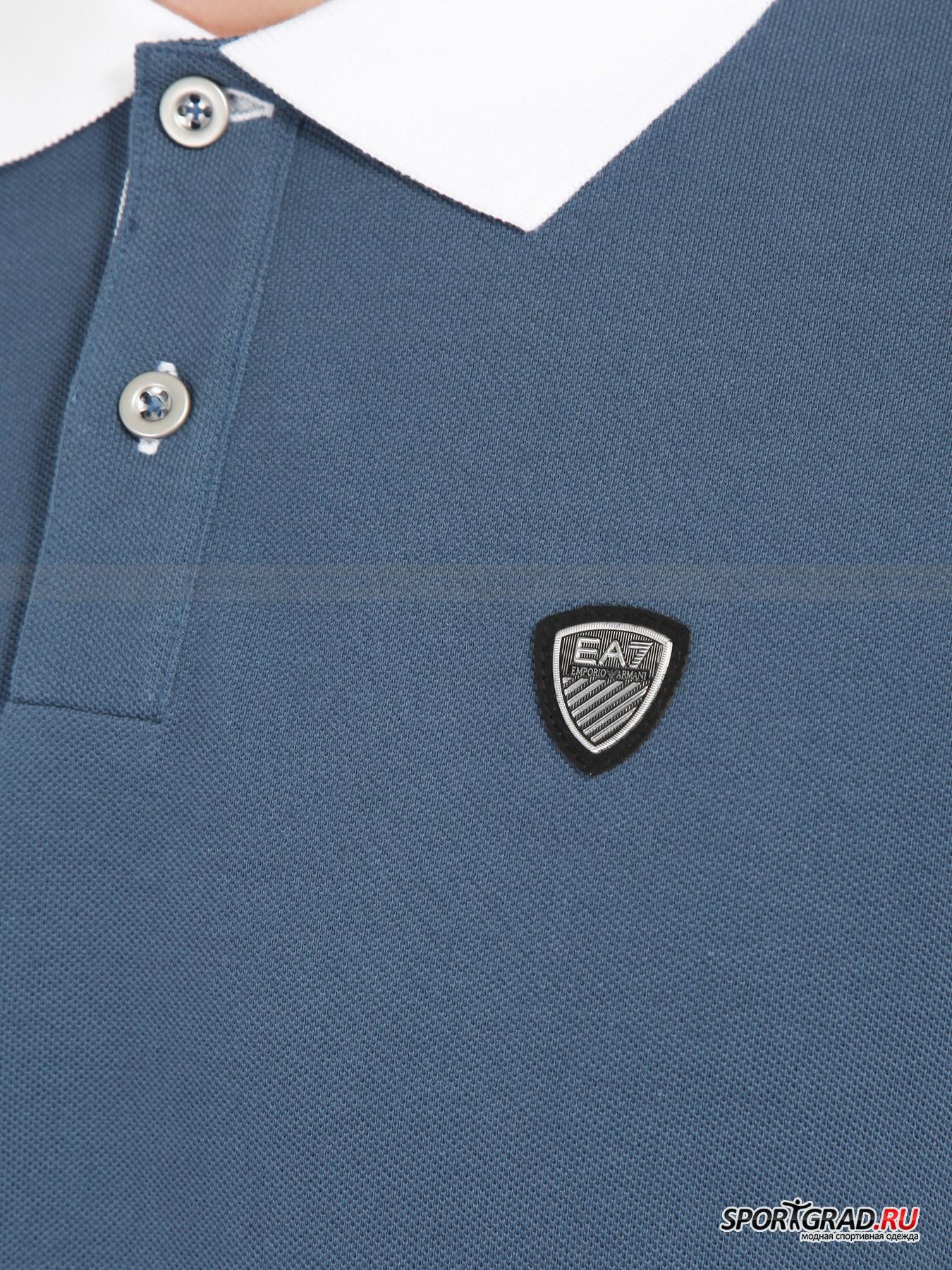 Поло мужское Train Classic Polo Shirt EA7 Emporio Armani от Спортград
