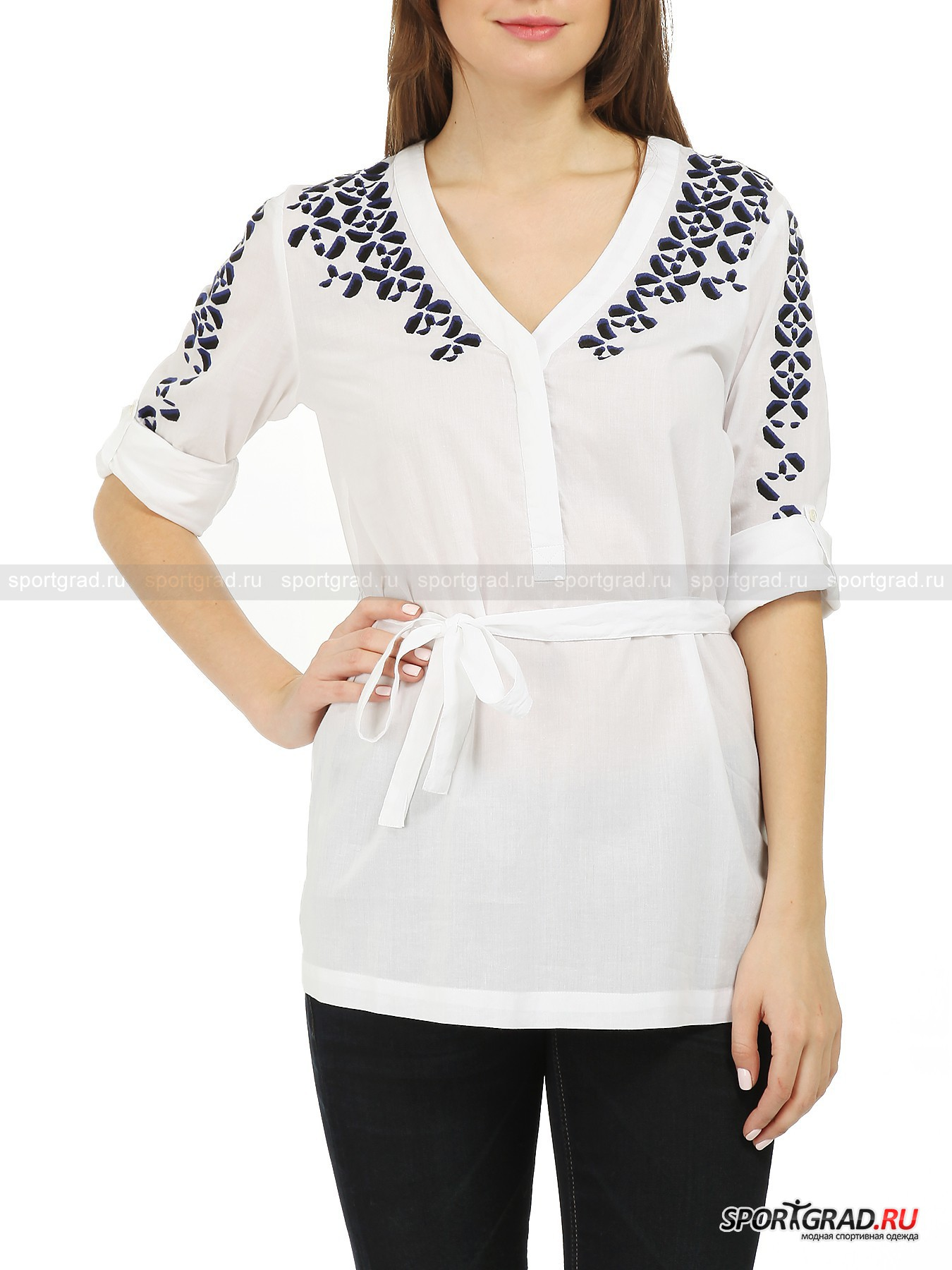 Рубашка женская хлопковая  Nina FIRE&ICE