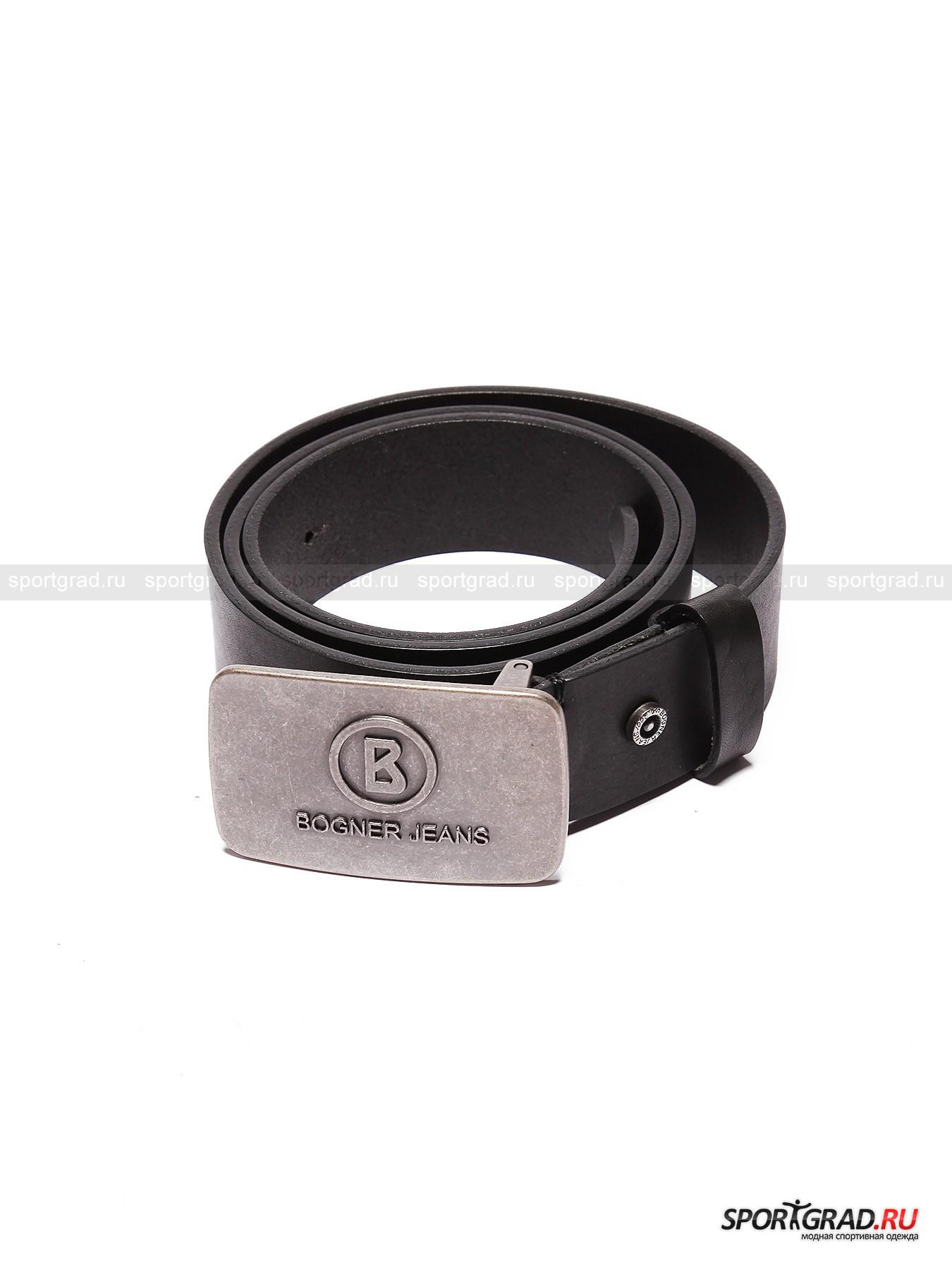 Ремень мужской Logo Buckle Belt BOGNER JEANS от Спортград