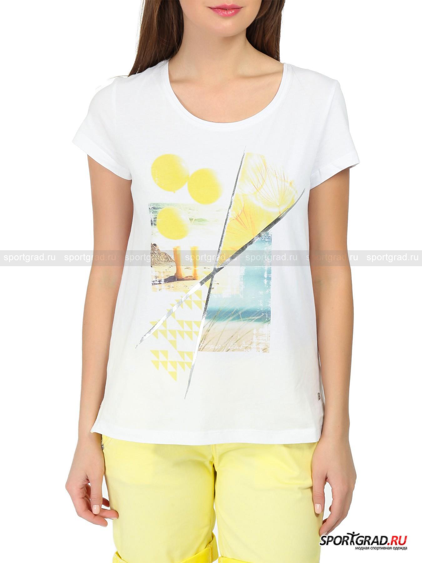 �������� ������� Fotoprint T-Shirt BOGNER JEANS