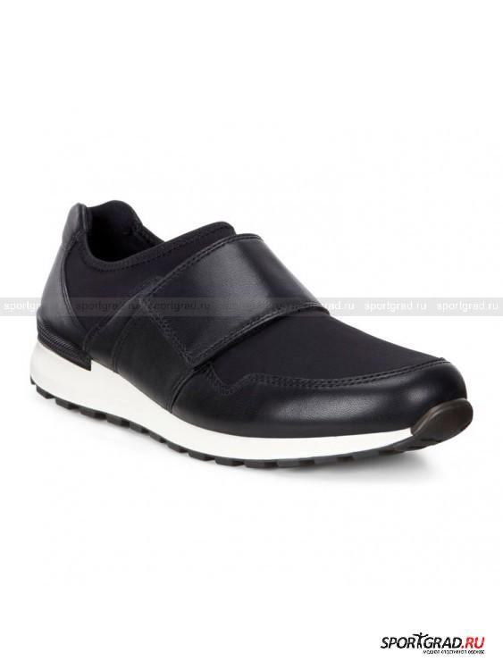 Ботинки женские CS14 Ladies  ECCOБотинки<br>Интересная модель CS14 Ladies Ecco представляет собой смесь кроссовок и ботинок, что позволит без проблем сочетать их практически с любой одеждой. Обувь очень легко и быстро надевается  и отлично сидит на ноге, даря комфорт шага благодаря гибкой подошве.<br><br>В таких ботинках ноги будут всегда оставаться сухими – качественные «дышащие» материалы и функциональная стелька CFS позволяют обуви прекрасно пропускать воздух и создавать правильный микроклимат для максимального удобства.<br><br>Пол: Женский<br>Возраст: Взрослый<br>Тип: Ботинки<br>Рекомендации по уходу: Протирать мягкой тканью.<br>Состав: Материал верха: текстиль, кожа; подкладка: текстиль; стелька: CFS (кожа).