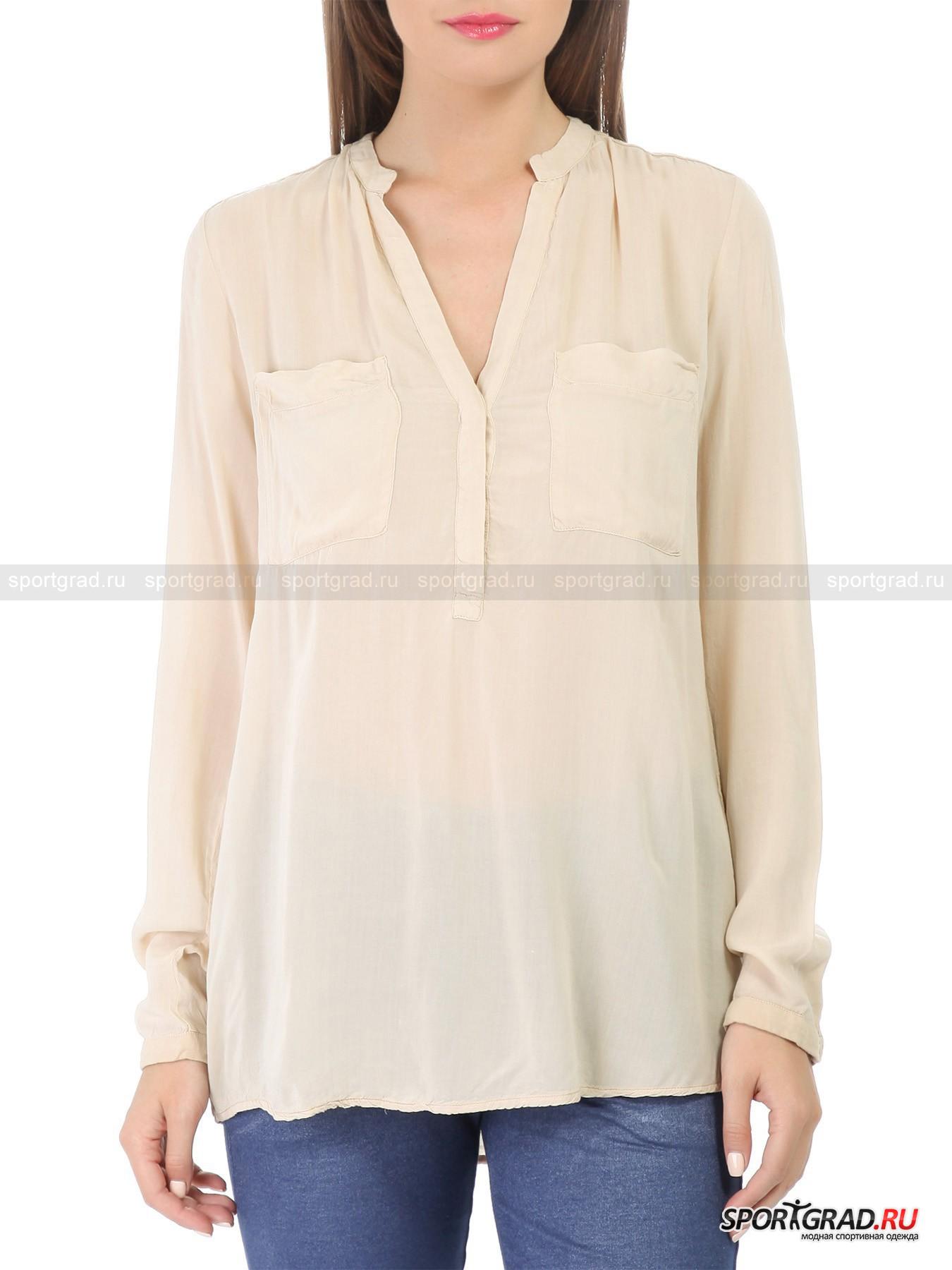 Блуза женская полупрозрачная DEHA