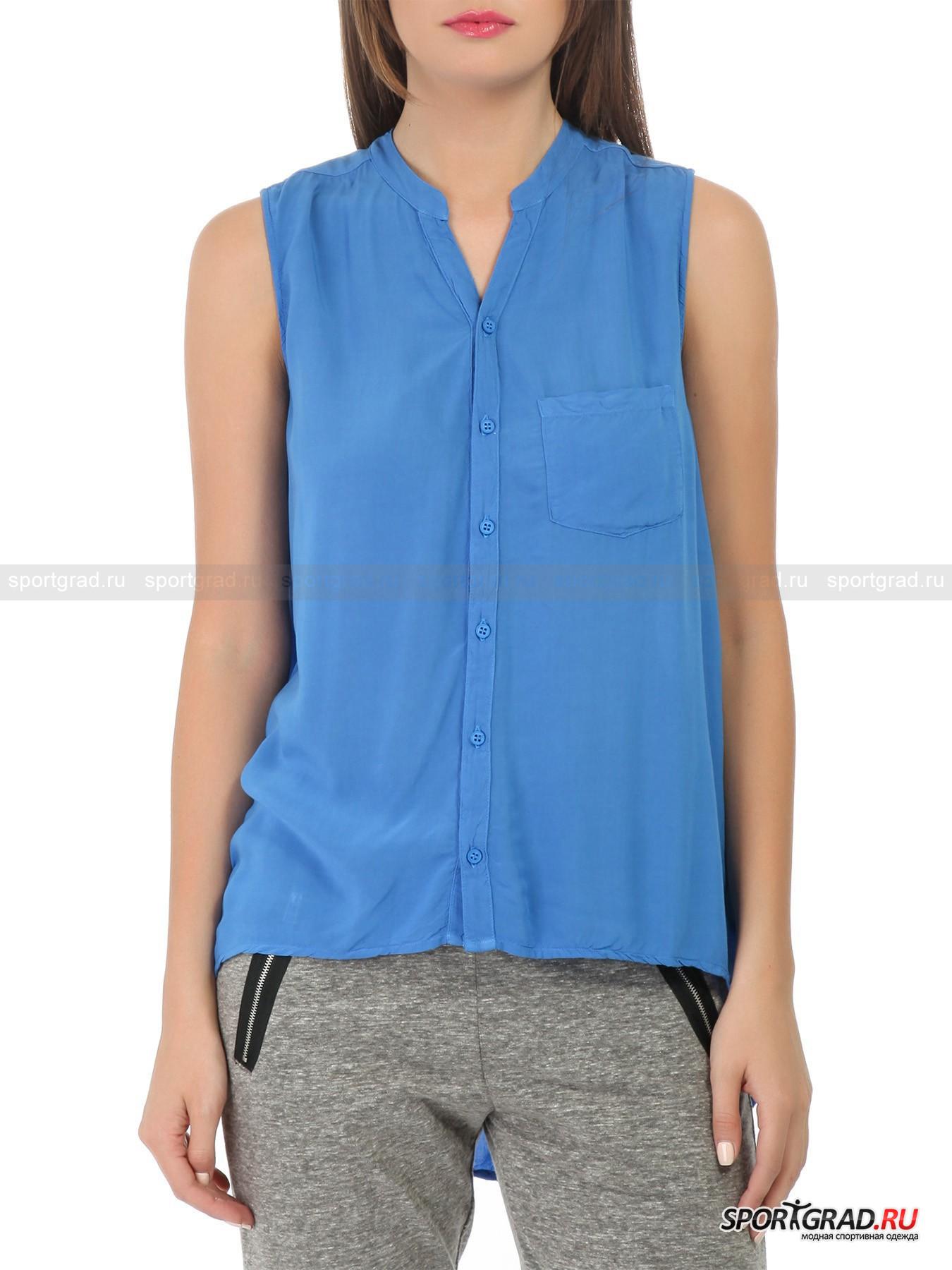 Женская блузка без рукавов купить