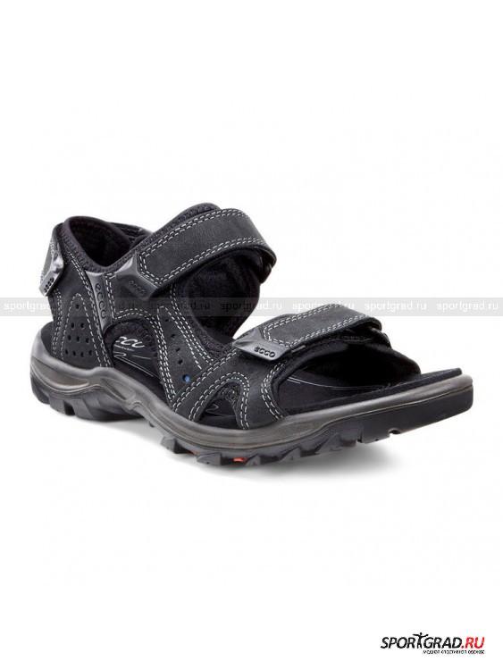 Сандалии Offroad Lite ECCOСандалии<br>Спортивные сандалии Offroad Lite Ecco – незаменимая обувь для каждого мужчины, ведущего активный образ жизни, предполагающий длительные прогулки. Легкие, гибкие, мягкие, комфортные сандалии анатомической формы  удобно сидят на ноге, надежно фиксируются при помощи липучек и обеспечивают отличную амортизацию и поддержку стопы. Модель снабжена технологией Receptor, которая отвечает за стабильность шага.<br><br>Пол: Мужской<br>Возраст: Взрослый<br>Тип: Сандалии<br>Рекомендации по уходу: Протирать мягкой тканью.<br>Состав: Текстиль, натуральная кожа.