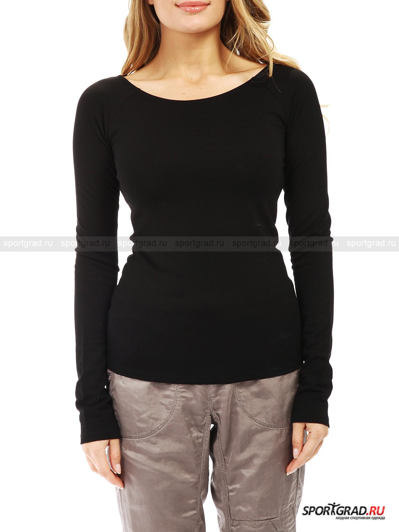 Футболка с длинным рукавом Boatneck Long Sleeve T-shirt DEHAДжемперы, Свитеры, Пуловеры<br>Черный лонгслив по фигуре Boatneck Long Sleeve T-shirt Deha – базовая вещь, которая непременно приживется в гардеробе каждой стильной девушки. Это прекрасная основа для множества модных образов и отличная вещь сама по себе. <br>Лонгслив изготовлен из очень эластичного, тонкого, гладкого и мягкого на ощупь трикотажа. Он подчеркивает все достоинства женской фигуры, благодаря вырезу «лодочка» делая плечи чуть шире, а талию уже.<br><br>Пол: Женский<br>Возраст: Взрослый<br>Тип: Джемперы, Свитеры, Пуловеры<br>Рекомендации по уходу: стирка в теплой воде до 30 С; не отбеливать; гладить слегка нагретым утюгом (температура до 110 C); химическая чистка сухим способом; нельзя выжимать и сушить в стиральной машине<br>Состав: 70% вискоза, 27% полиэстер, 3% эластан
