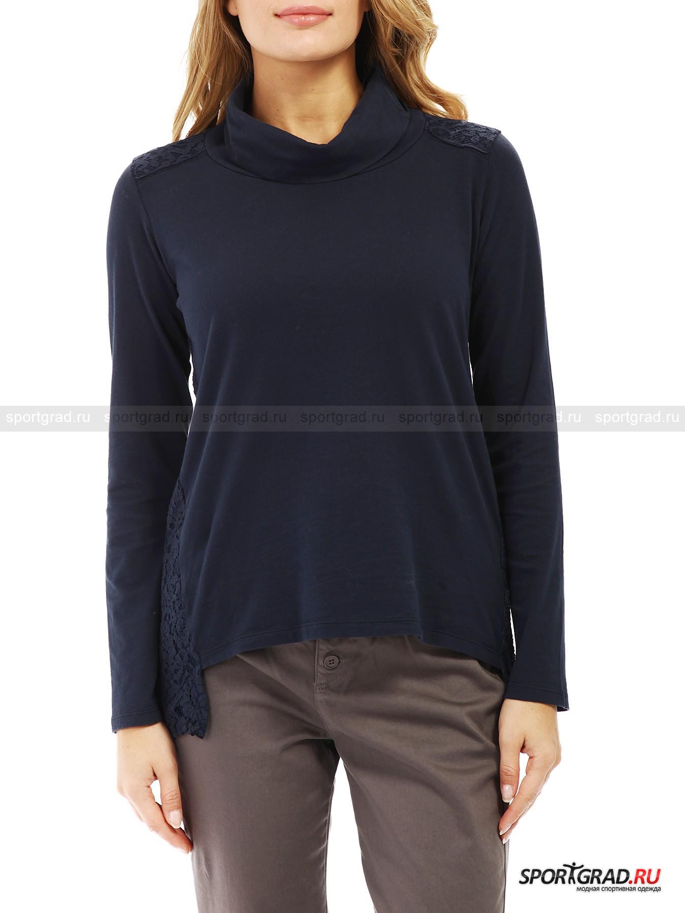 �������� ������� Neck Long Sleeve T-shirt DEHA