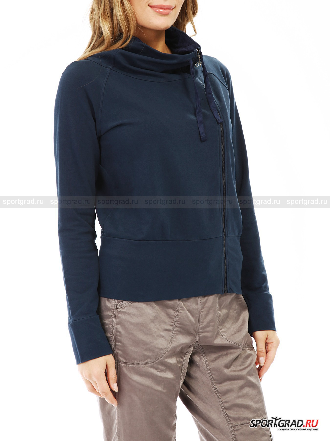 Толстовка женская Full Zip Sweatshirt DEHA от Спортград