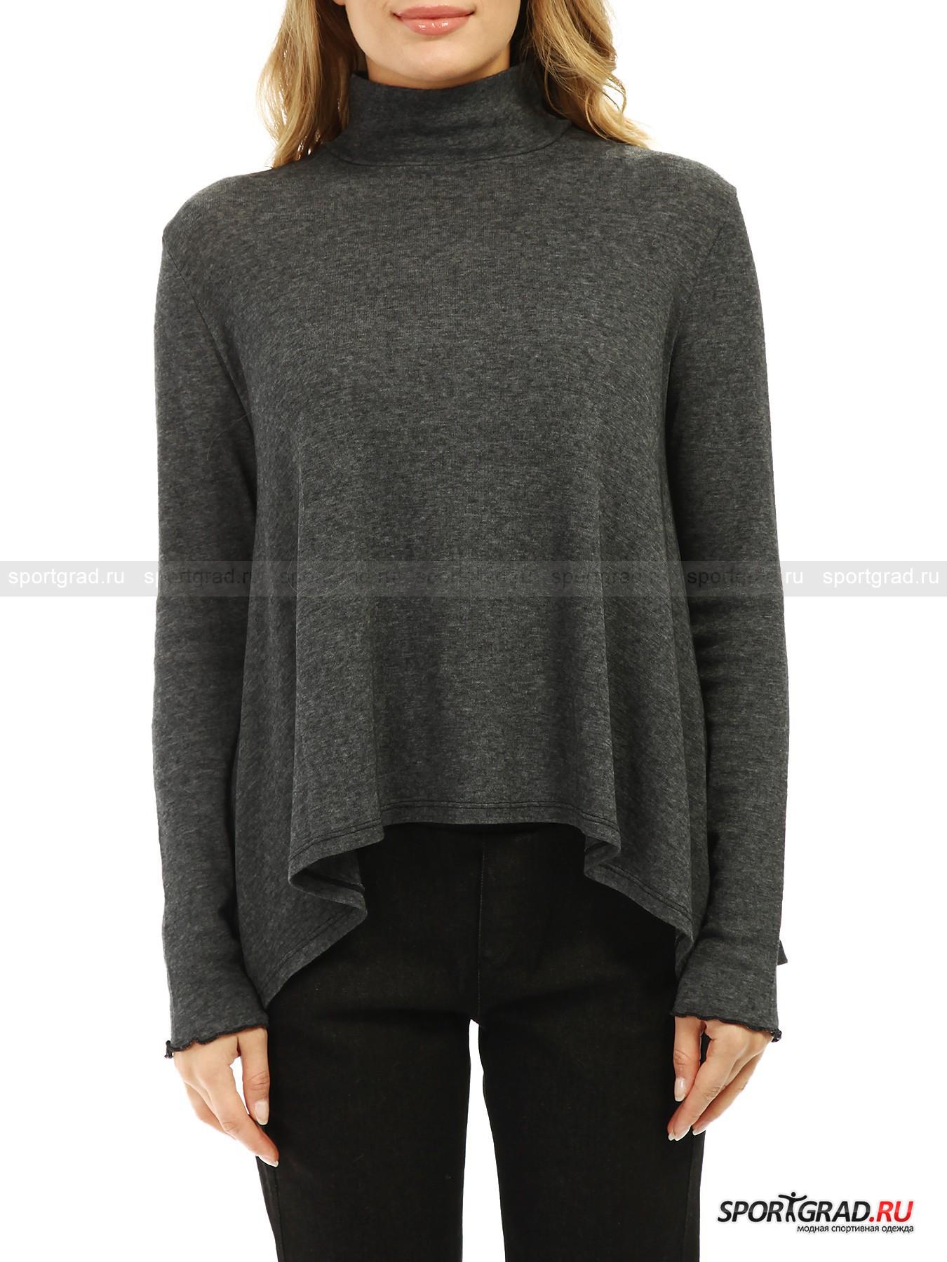 Джемпер женский High Neck Rib T-shirt DEHA