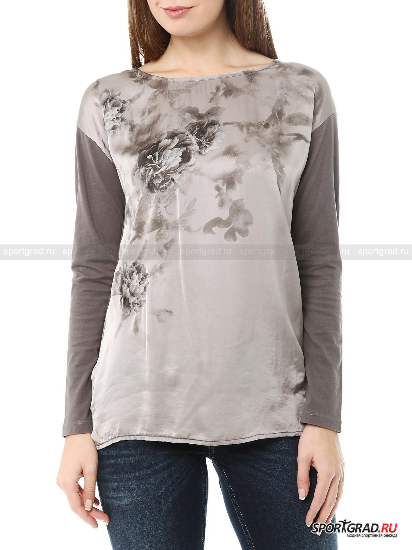 �������� ������� Satin Long Sleeve T-shirt DEHA