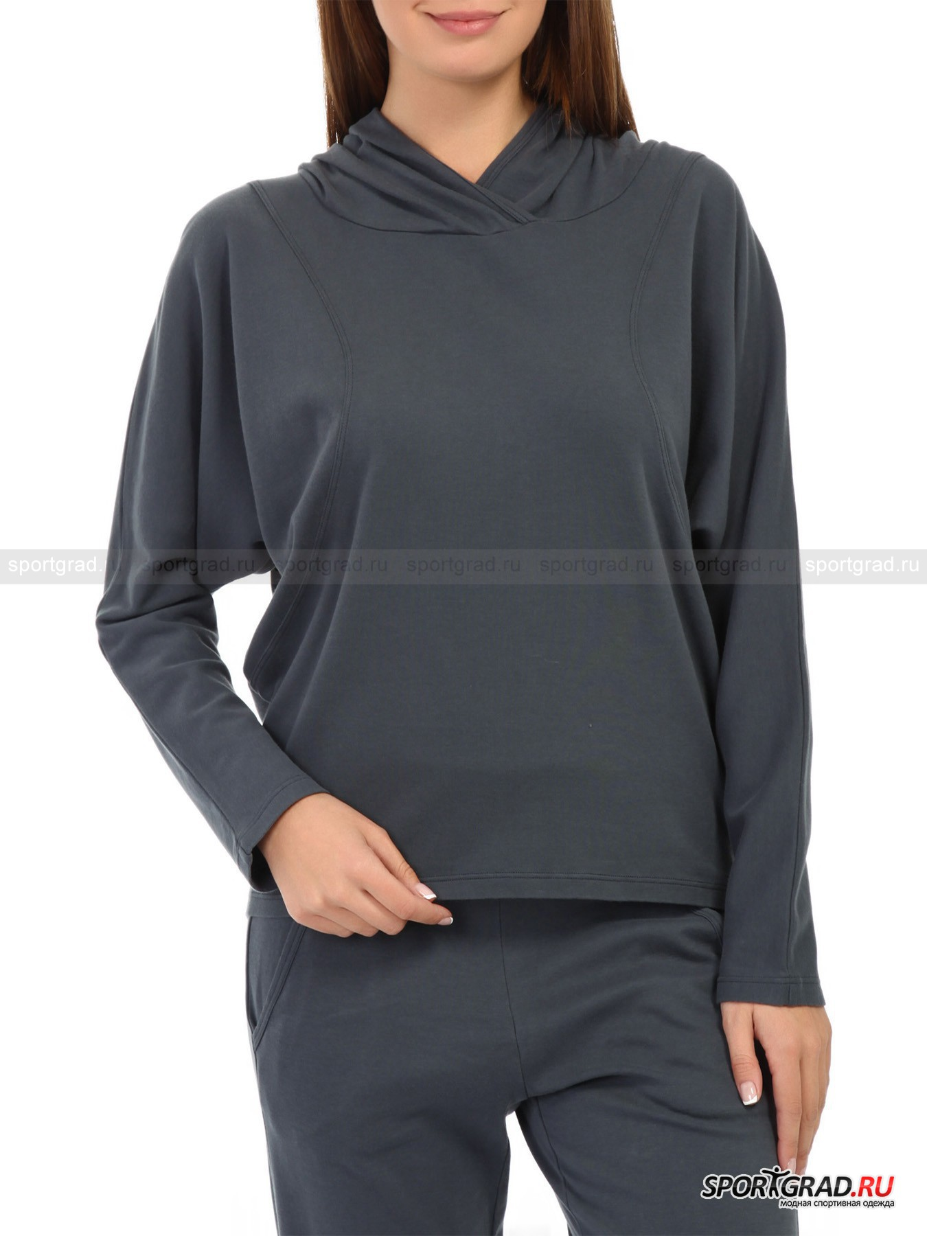 Толстовка женская Hooded Sweatshirt DEHA от Спортград