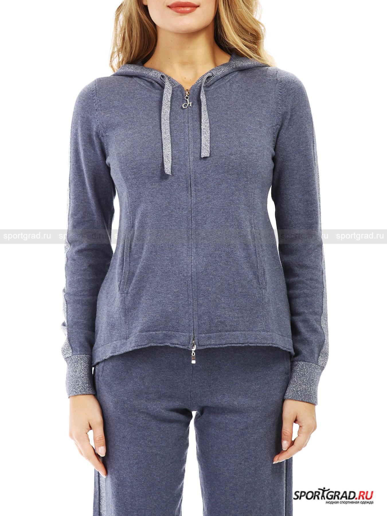 Толстовка жен  Cachemire full zip Sweater DEHAТолстовки<br><br><br>Пол: Женский<br>Возраст: Взрослый<br>Тип: Толстовки