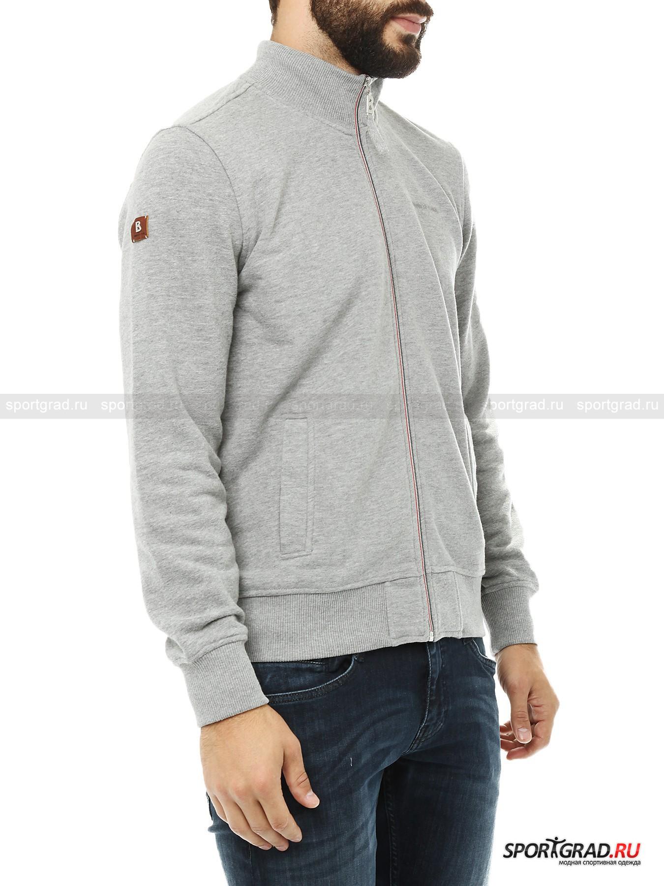 Толстовка мужская  Zip Sweater BOGNER JEANS от Спортград