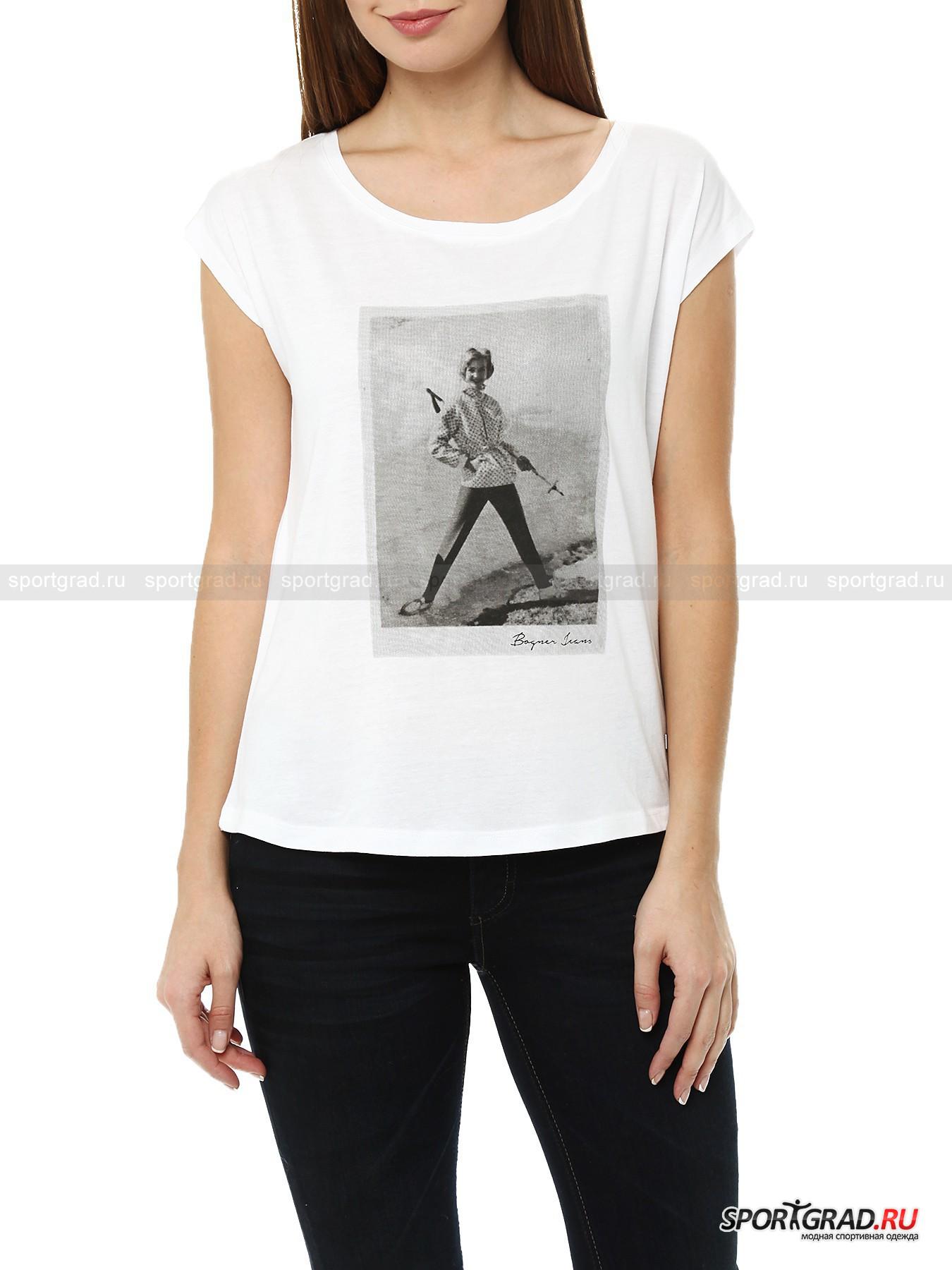 �������� ������� Photoprint T-shirt BOGNER JEANS