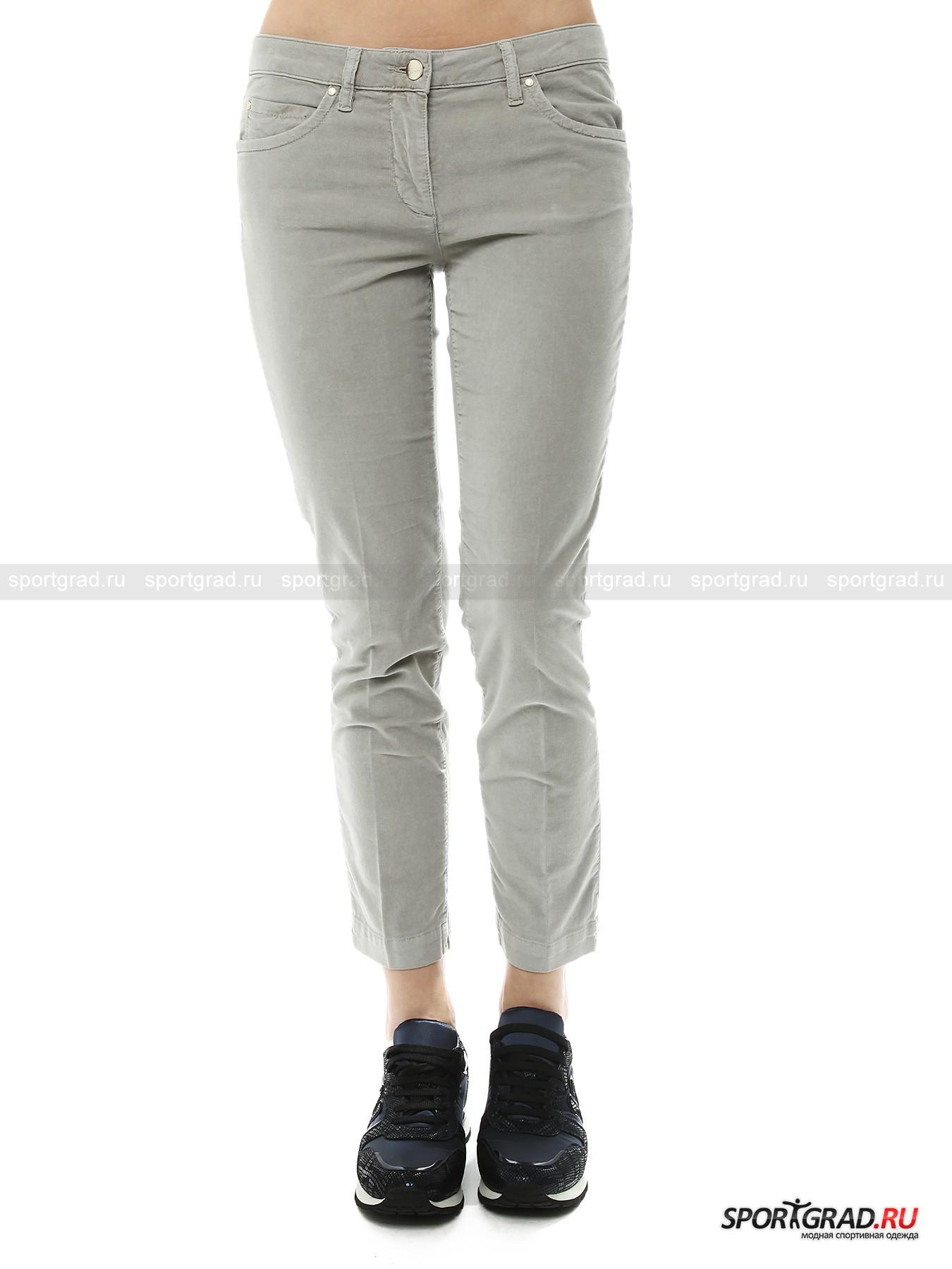 Вельветовые брюки женские