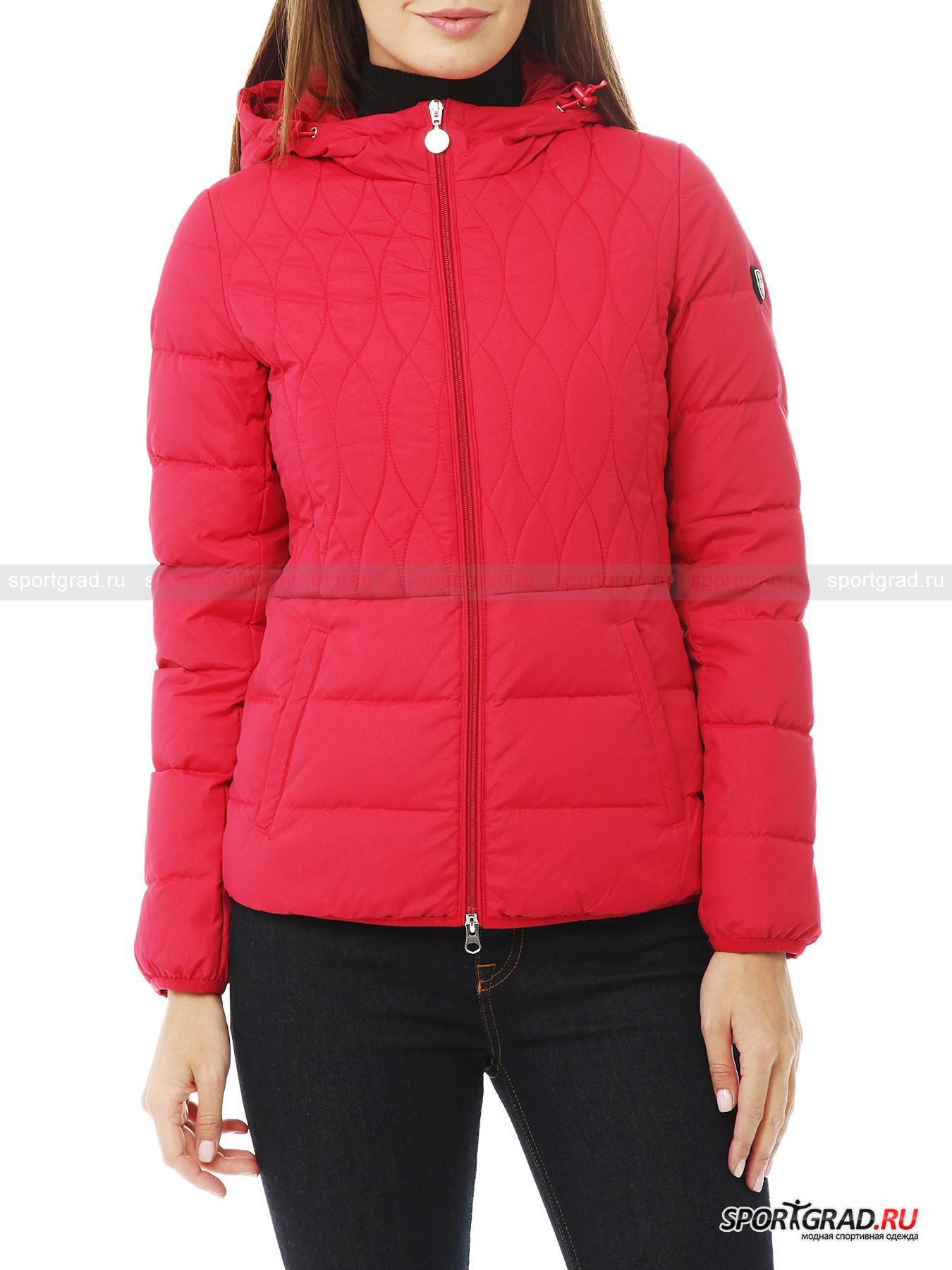 8828627fcf1d Куртка женская EA7 EMPORIO ARMANI. Загрузка изображения