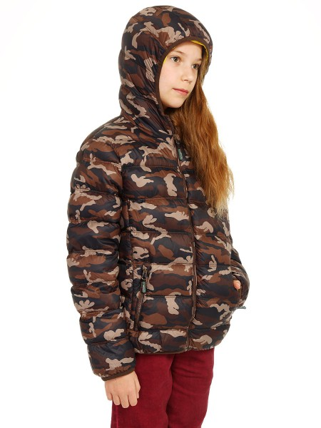 Пуховик детский JUNIOR ZIP HOOD JACKET CAMPAGNOLO