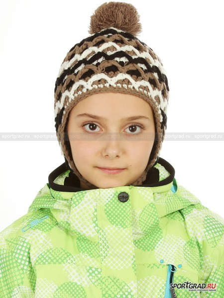 Шапка детская GIRL KNITTED HEAT CAMPAGNOLO