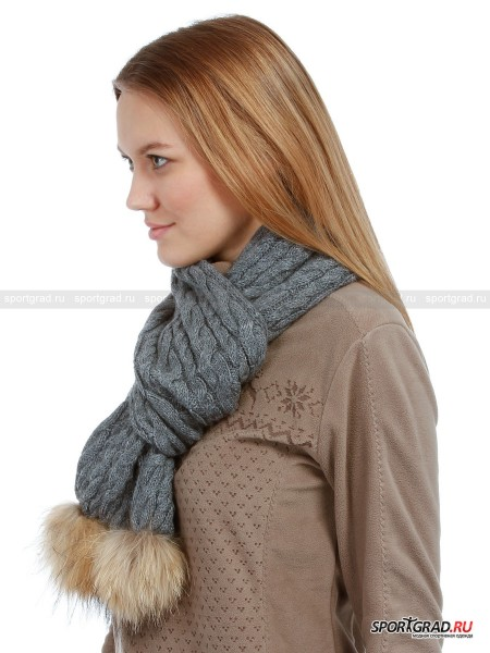 Шарф LADY KNITED SCARF CAMPAGNOLO