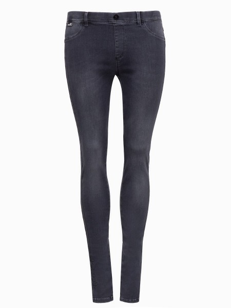 Джинсы женские Trousers Denim MOSCHINO LOVE