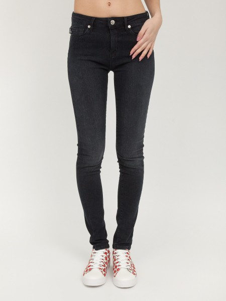 Джинсы жен. Trousers DENIM MOSCHINO LOVE