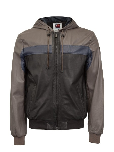 Куртка мужская JACKET LEATHER FLOW WATER TRUSSARDI JE