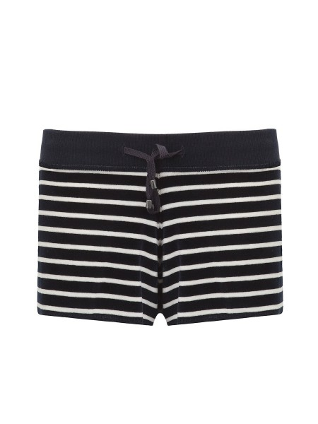 Шорты женские Fine Stripe Velvet Shorts