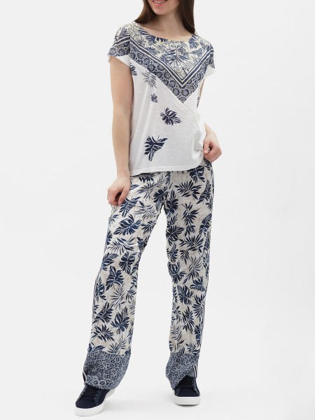 Брюки жен. Allover Printed Pants
