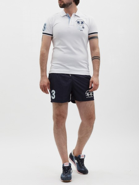 Поло мужское Polo S/S Piquet Stretch